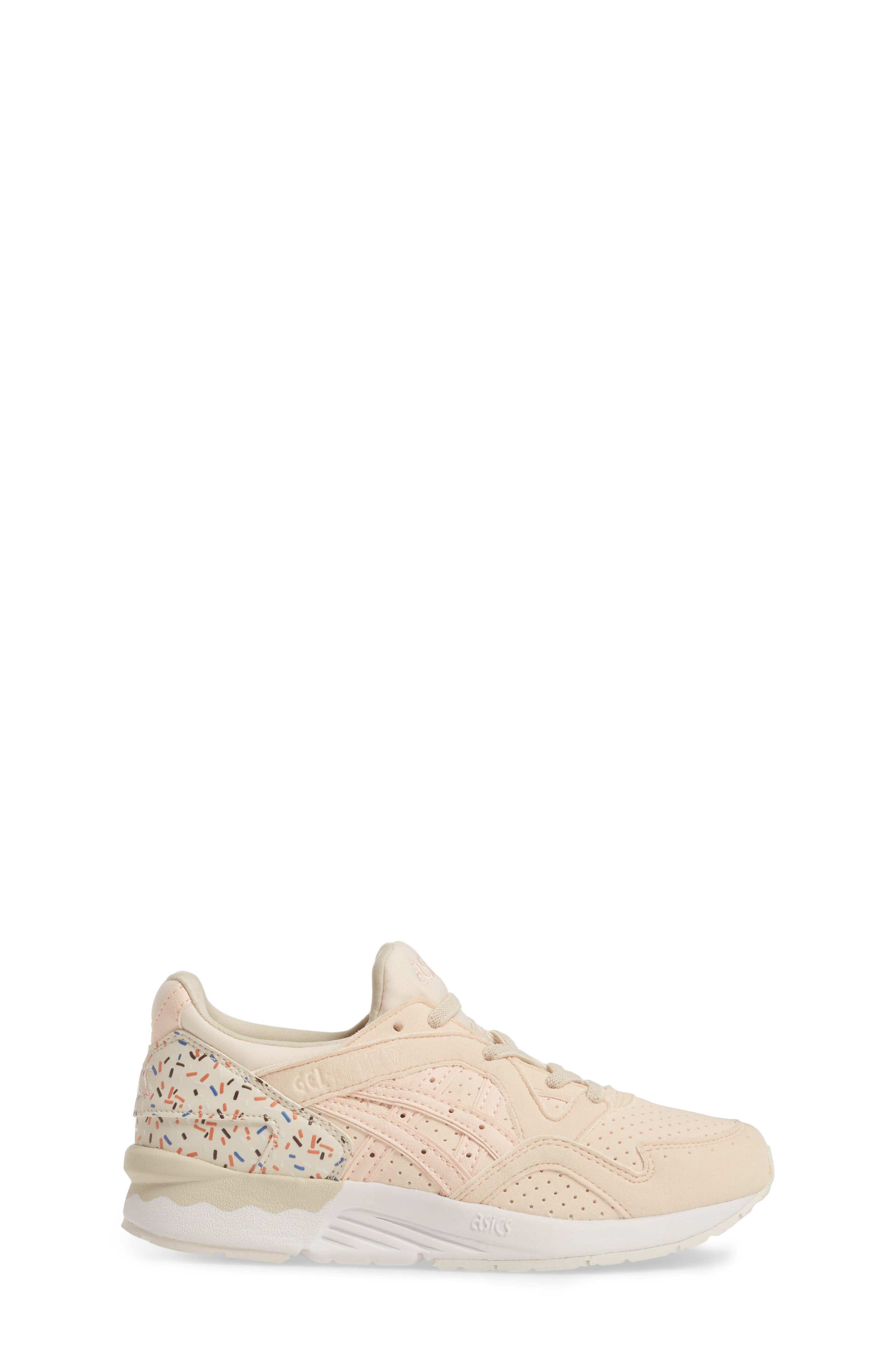 GEL-Lyte V Sneaker,                             Alternate thumbnail 3, color,                             Vanilla Cream/ Vanilla Cream