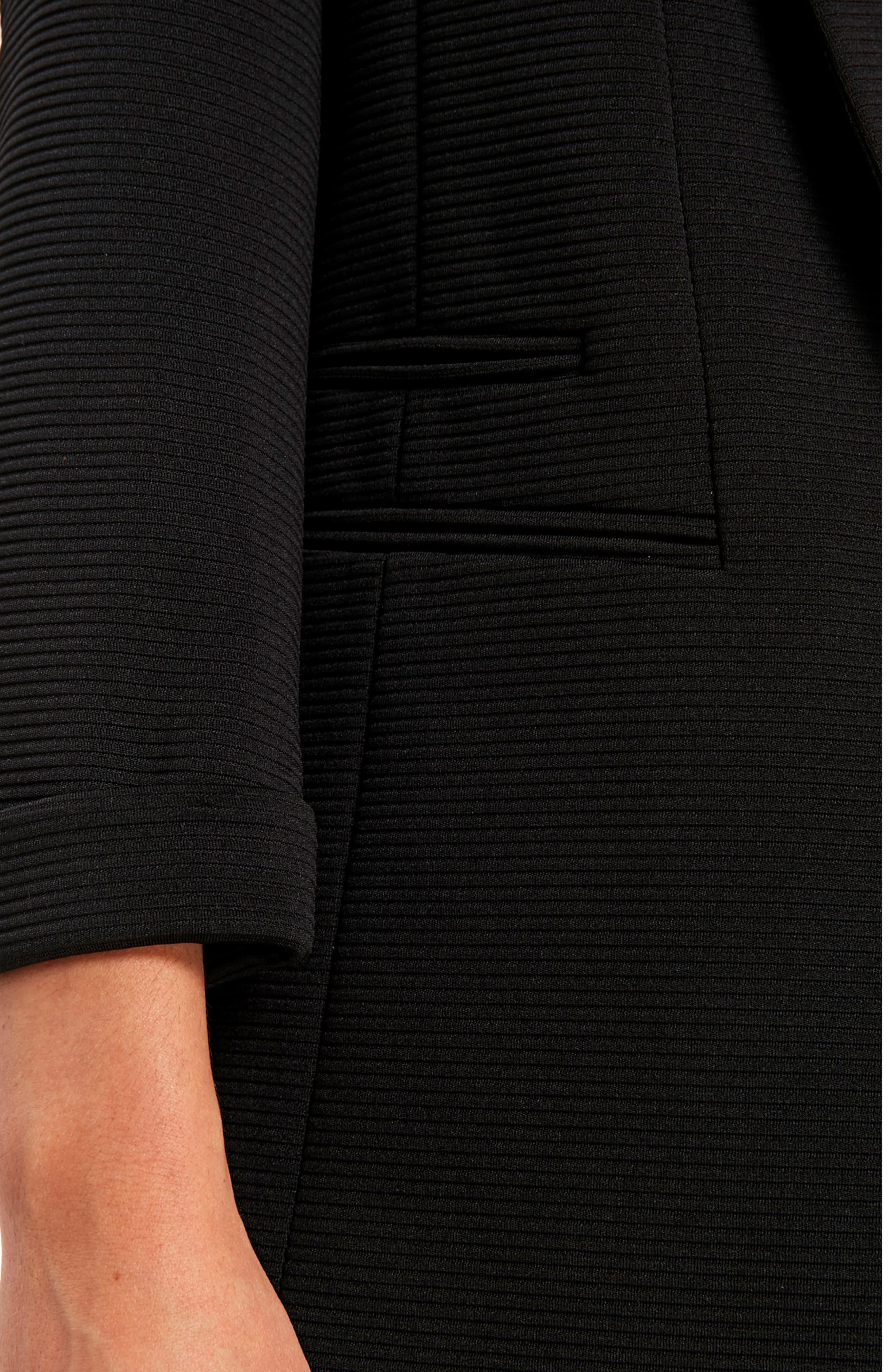 Alternate Image 4  - Wallis Ribbed Ponte Jacket