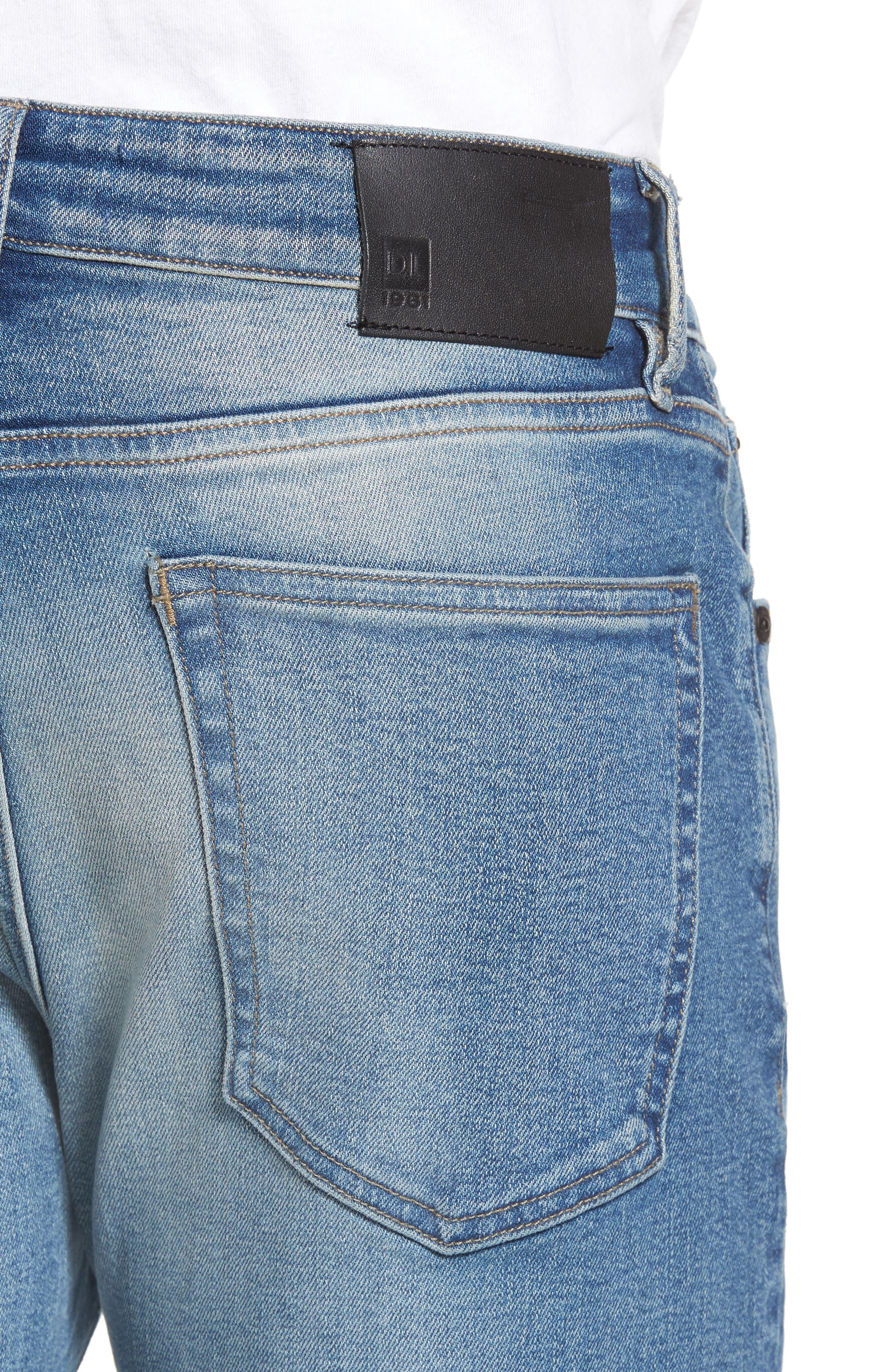 Alternate Image 4  - DL1961 Hunter Skinny Jeans (Halt)