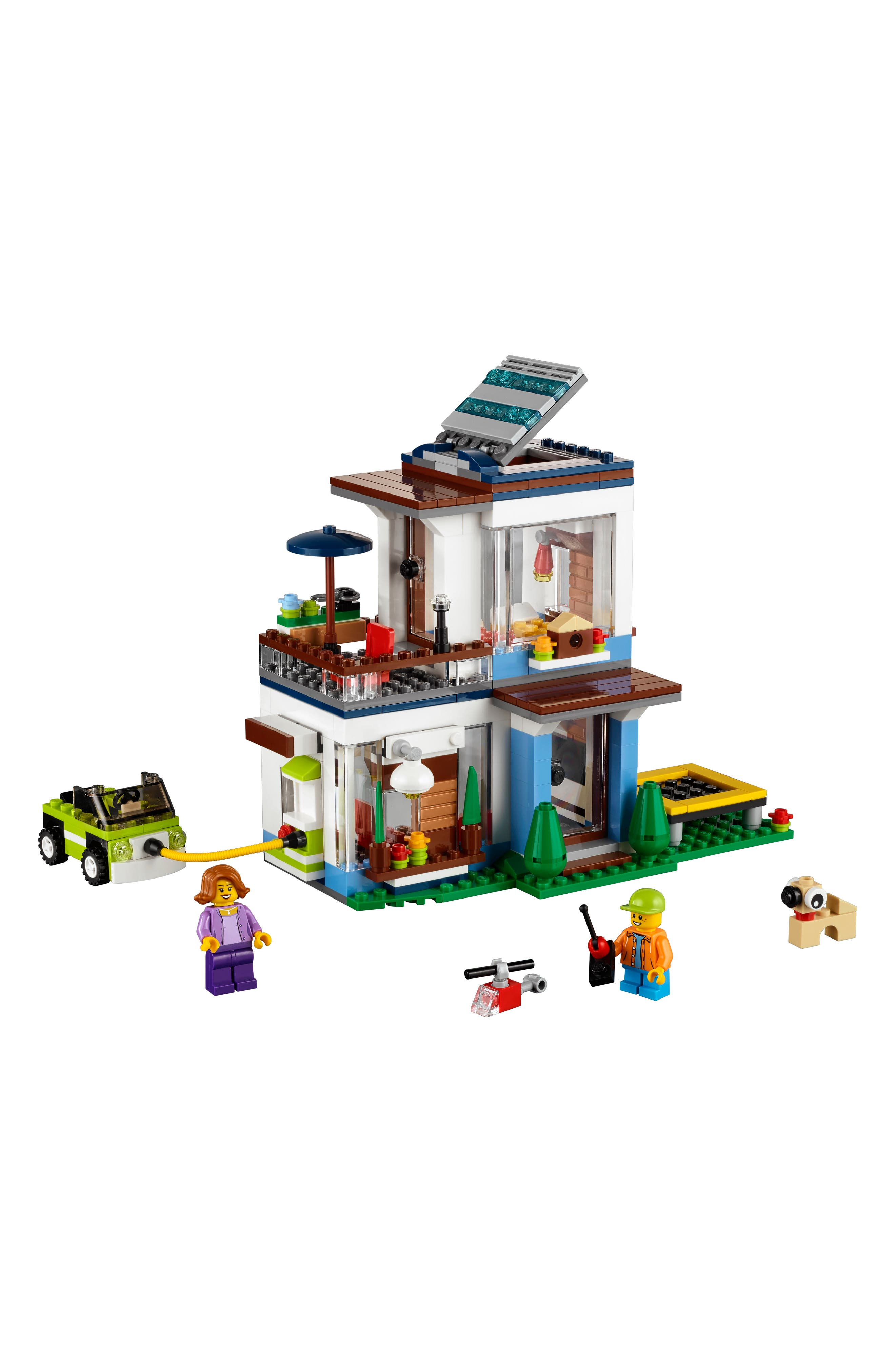 Creator 3-in-1 Modular Modern Home Play Set - 31068,                             Alternate thumbnail 4, color,                             Multi