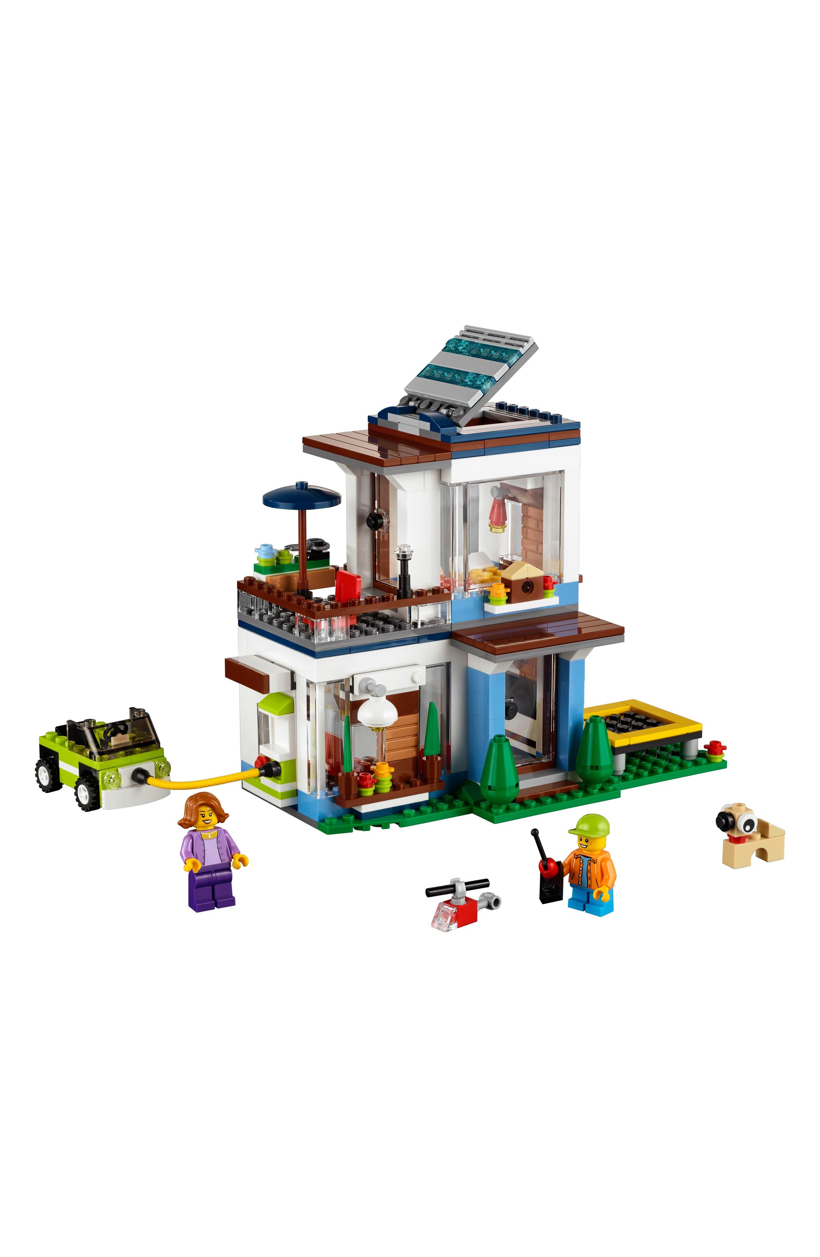 Alternate Image 4  - LEGO® Creator 3-in-1 Modular Modern Home Play Set - 31068