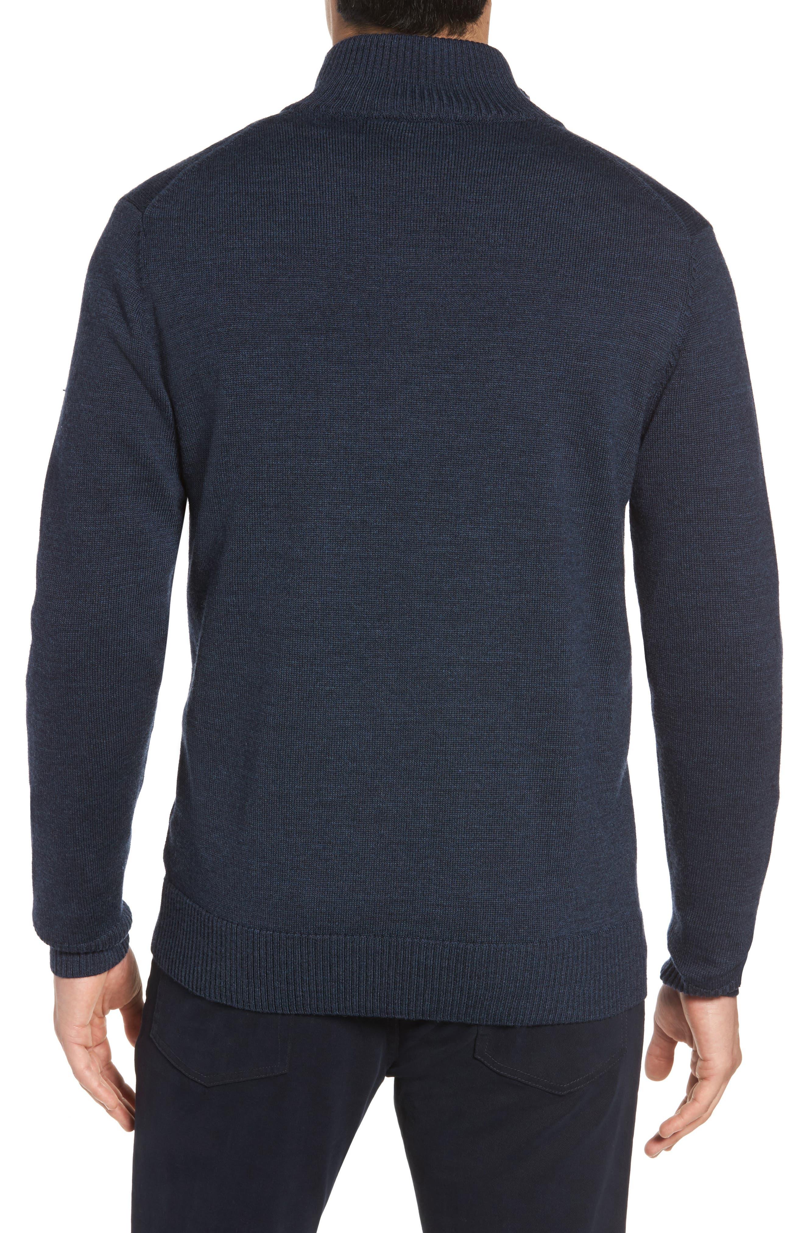 Alternate Image 2  - Rodd & Gunn Roaring Meg Zip Wool Sweater