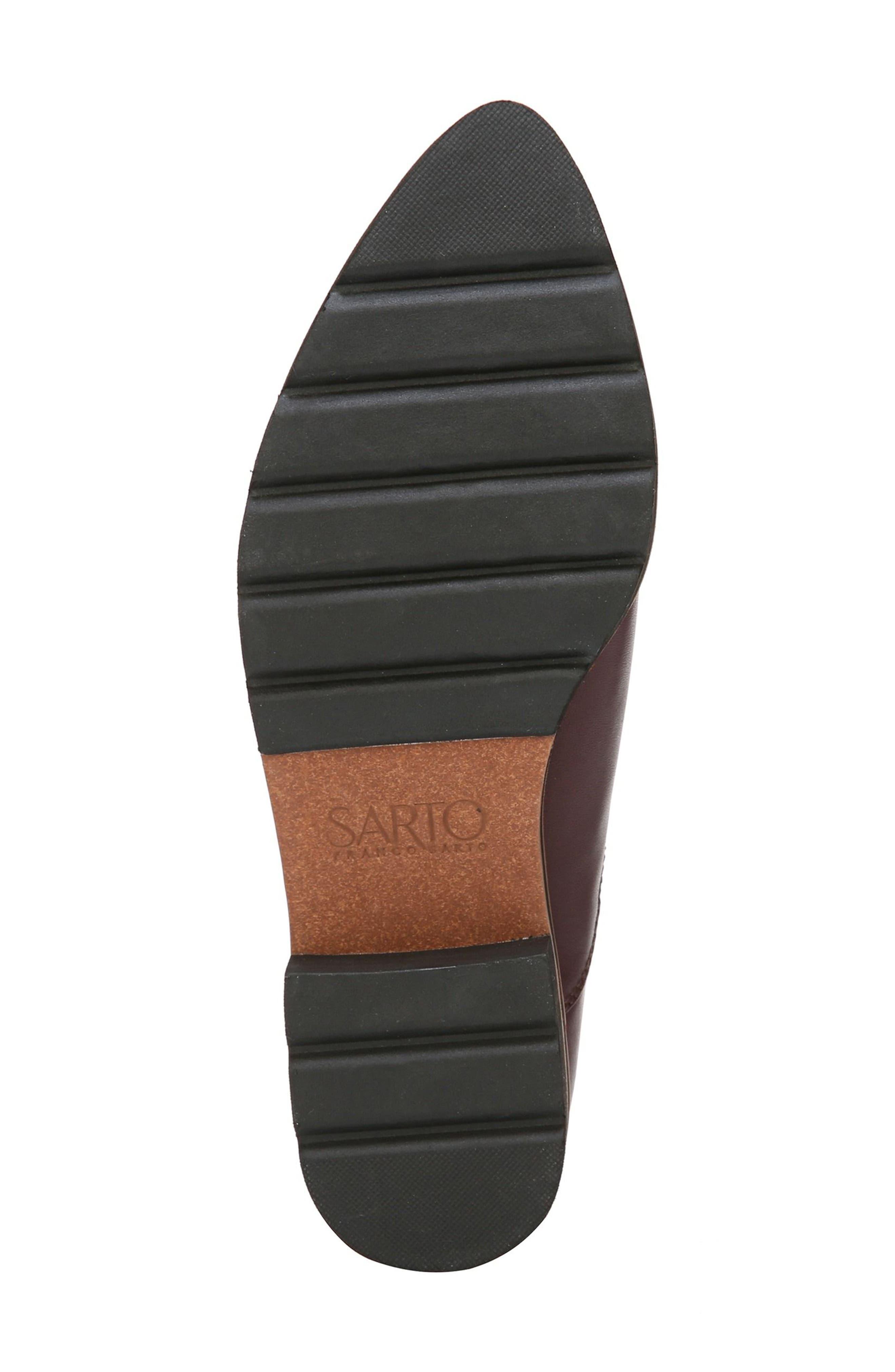 Bringham Bootie,                             Alternate thumbnail 6, color,                             Dark Burgundy Leather