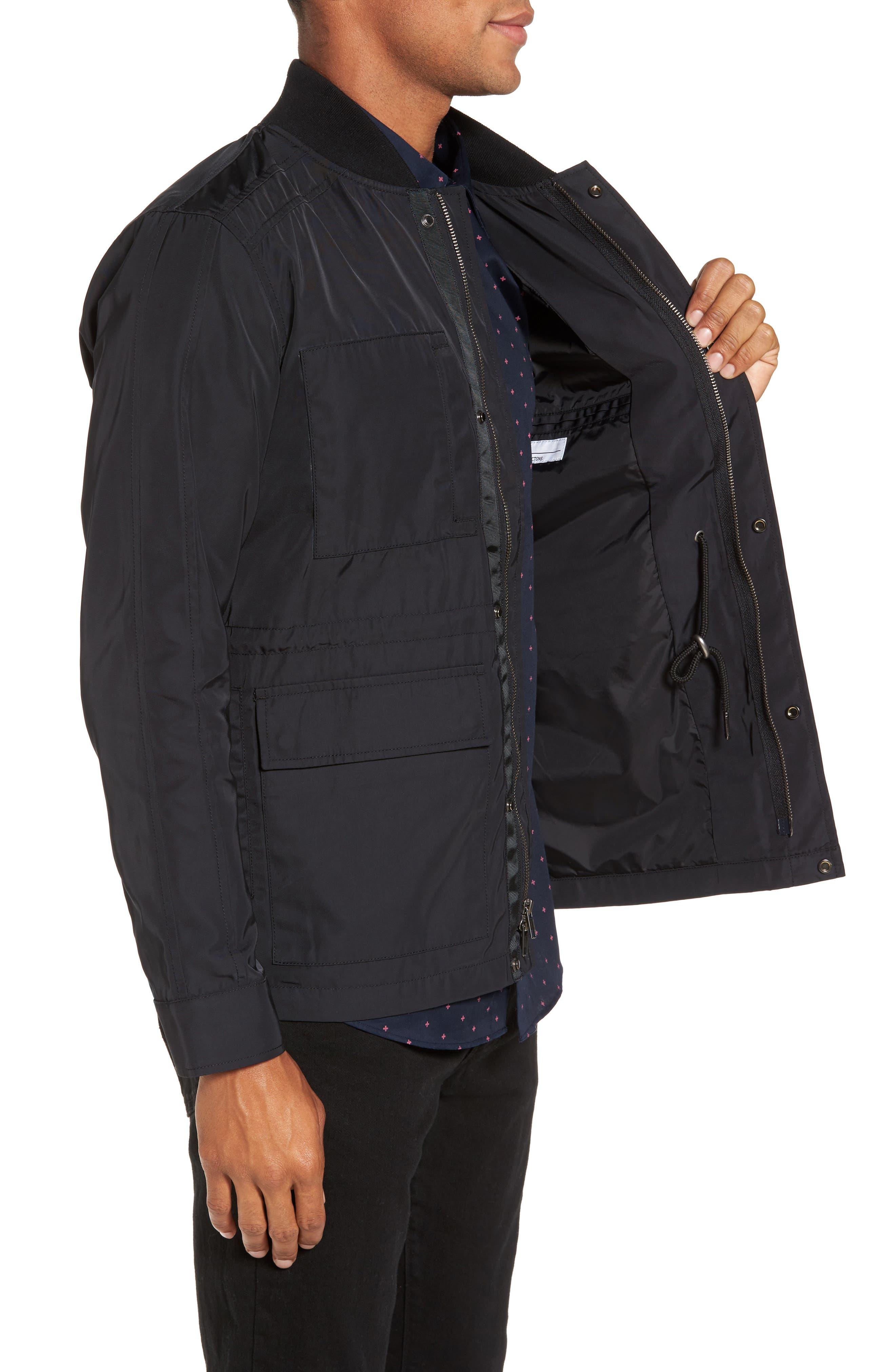 Utility Jacket,                             Alternate thumbnail 3, color,                             Black