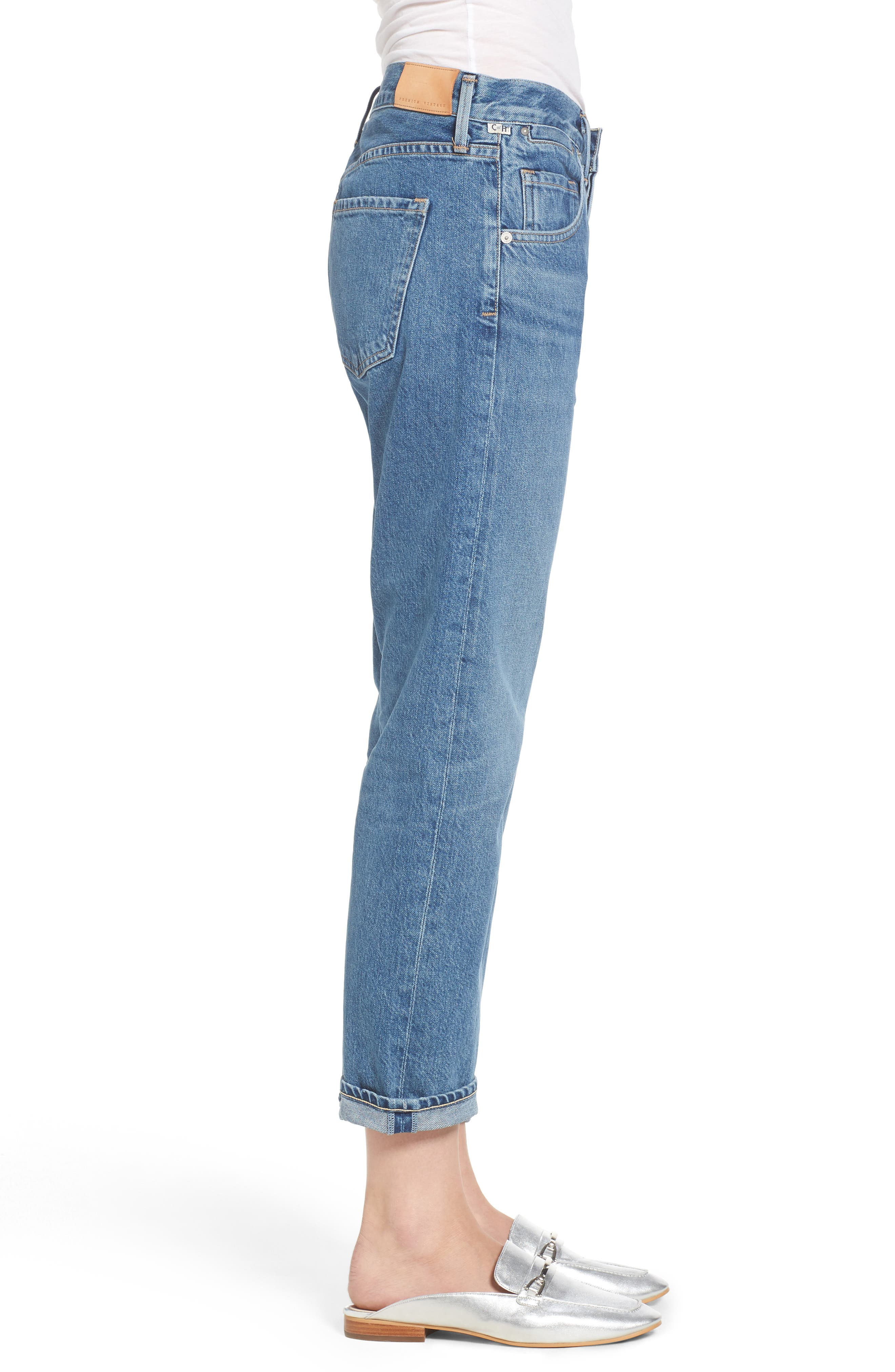 Emerson Slim Boyfriend Jeans,                             Alternate thumbnail 3, color,                             Dream On