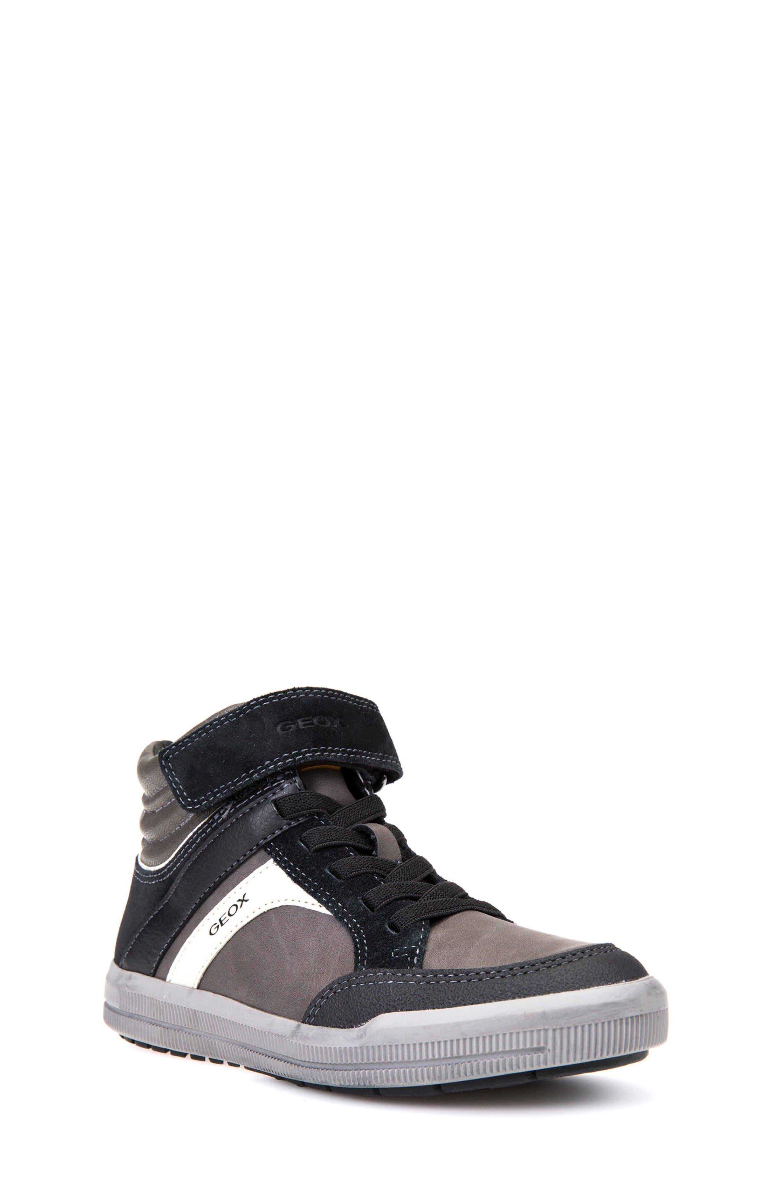 Geox Arzach Mid Top Sneaker (Toddler, Little Kid & Big Kid)