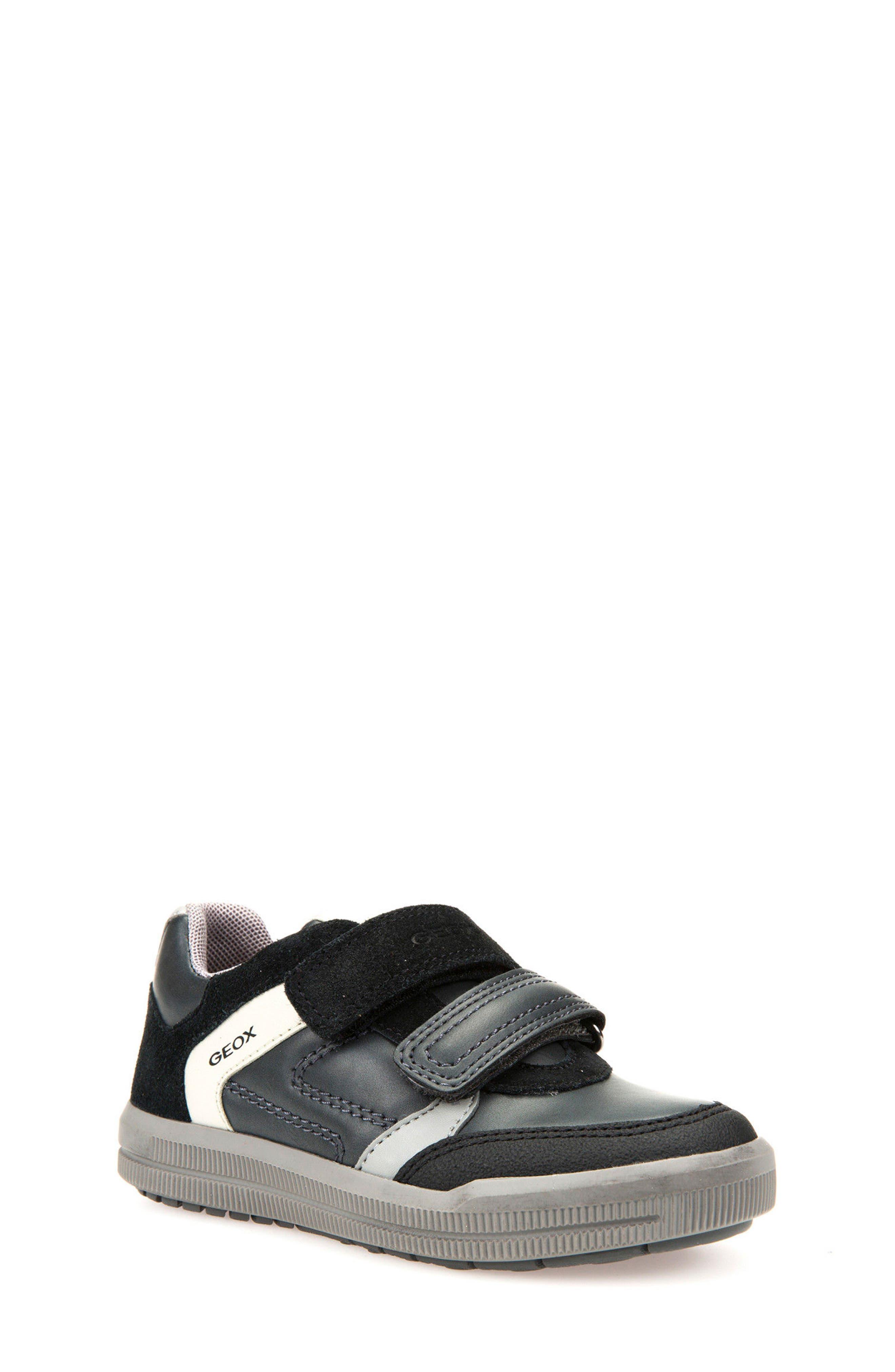 Alternate Image 1 Selected - Geox Jr Arzach Sneaker (Toddler, Little Kid & Big Kid)
