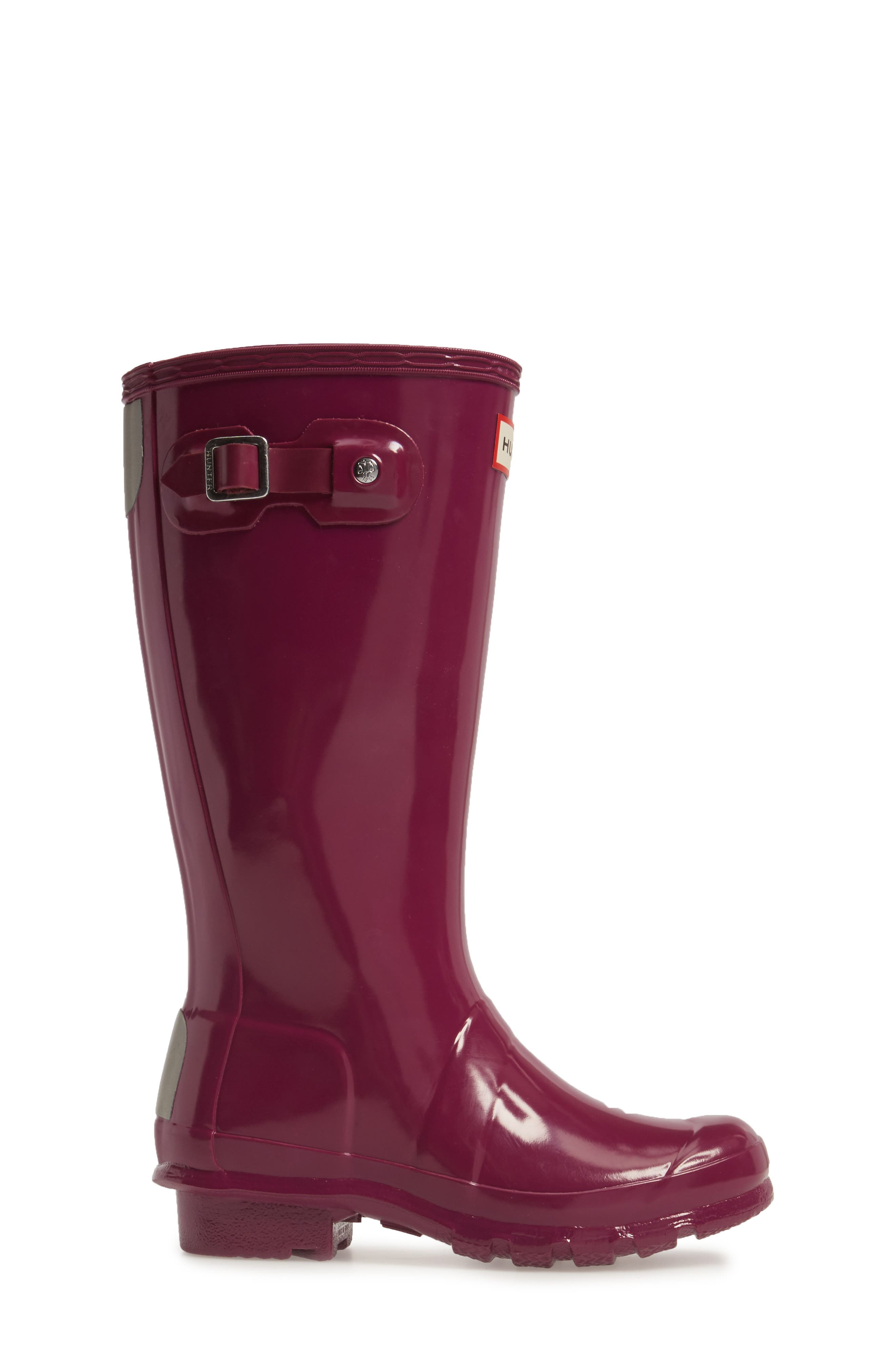 Alternate Image 3  - Hunter 'Original Gloss' Rain Boot (Little Kid & Big Kid)