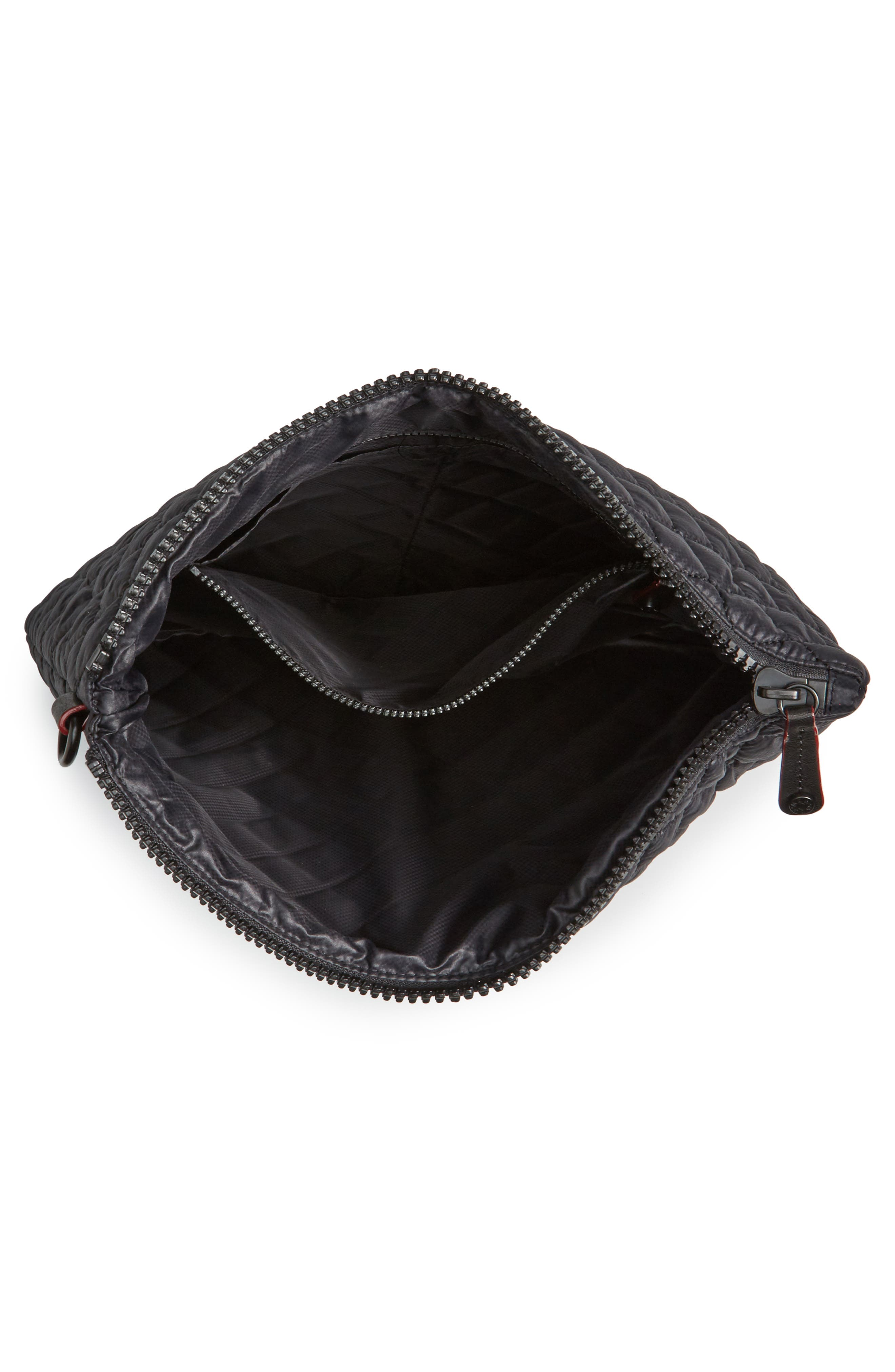 Alternate Image 4  - MZ Wallace Metro Quilted Oxford Nylon Zip Pouch