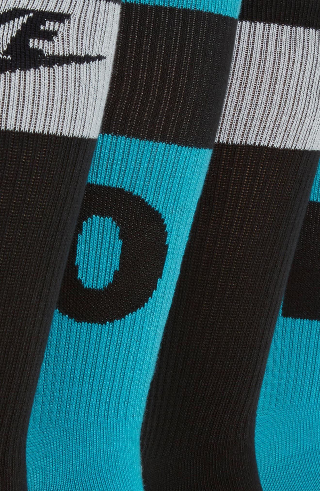 Alternate Image 2  - Nike HBR 2-Pack Socks
