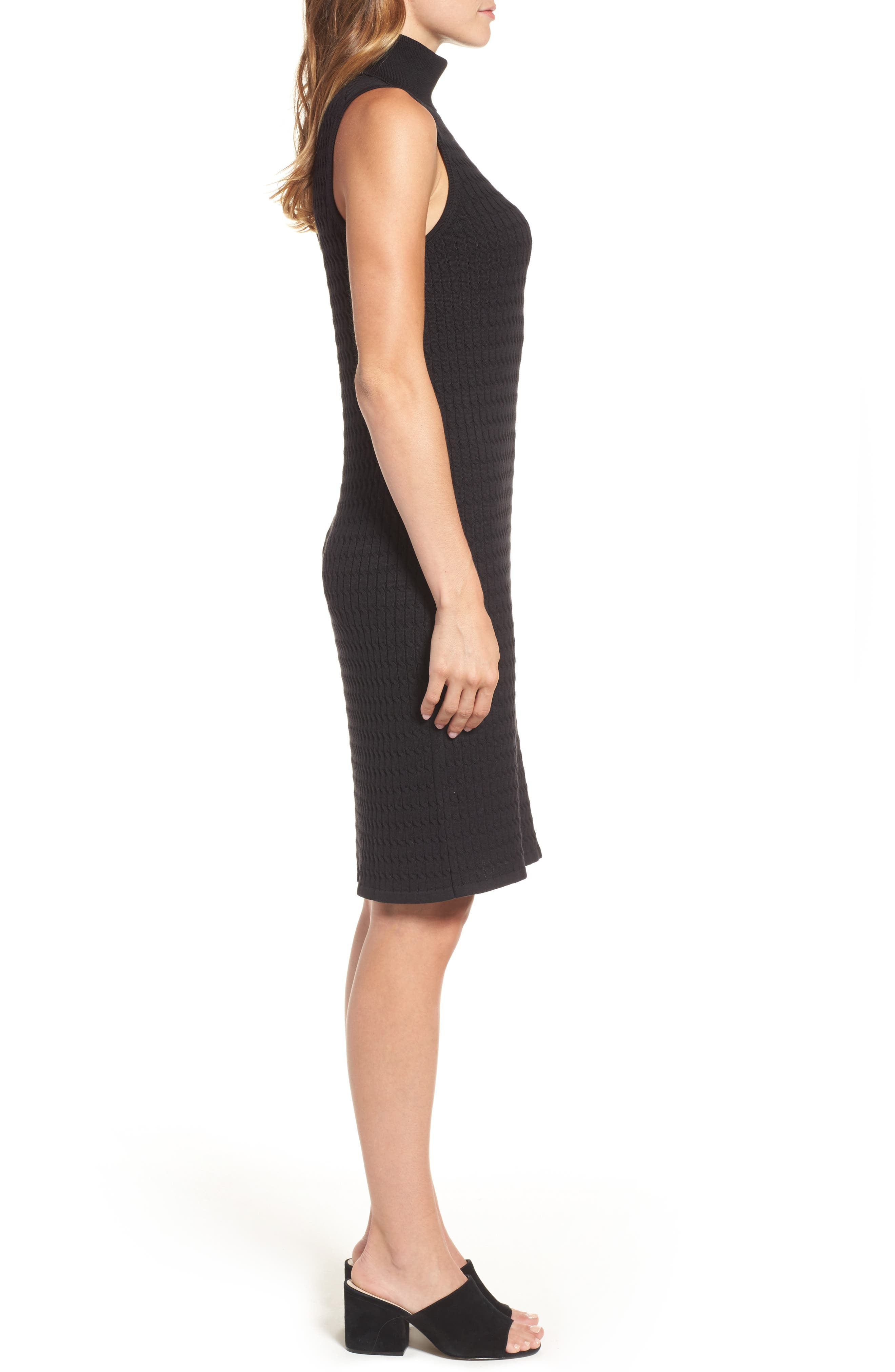 Alternate Image 3  - Tommy Bahama Sleeveless Turtleneck Dress