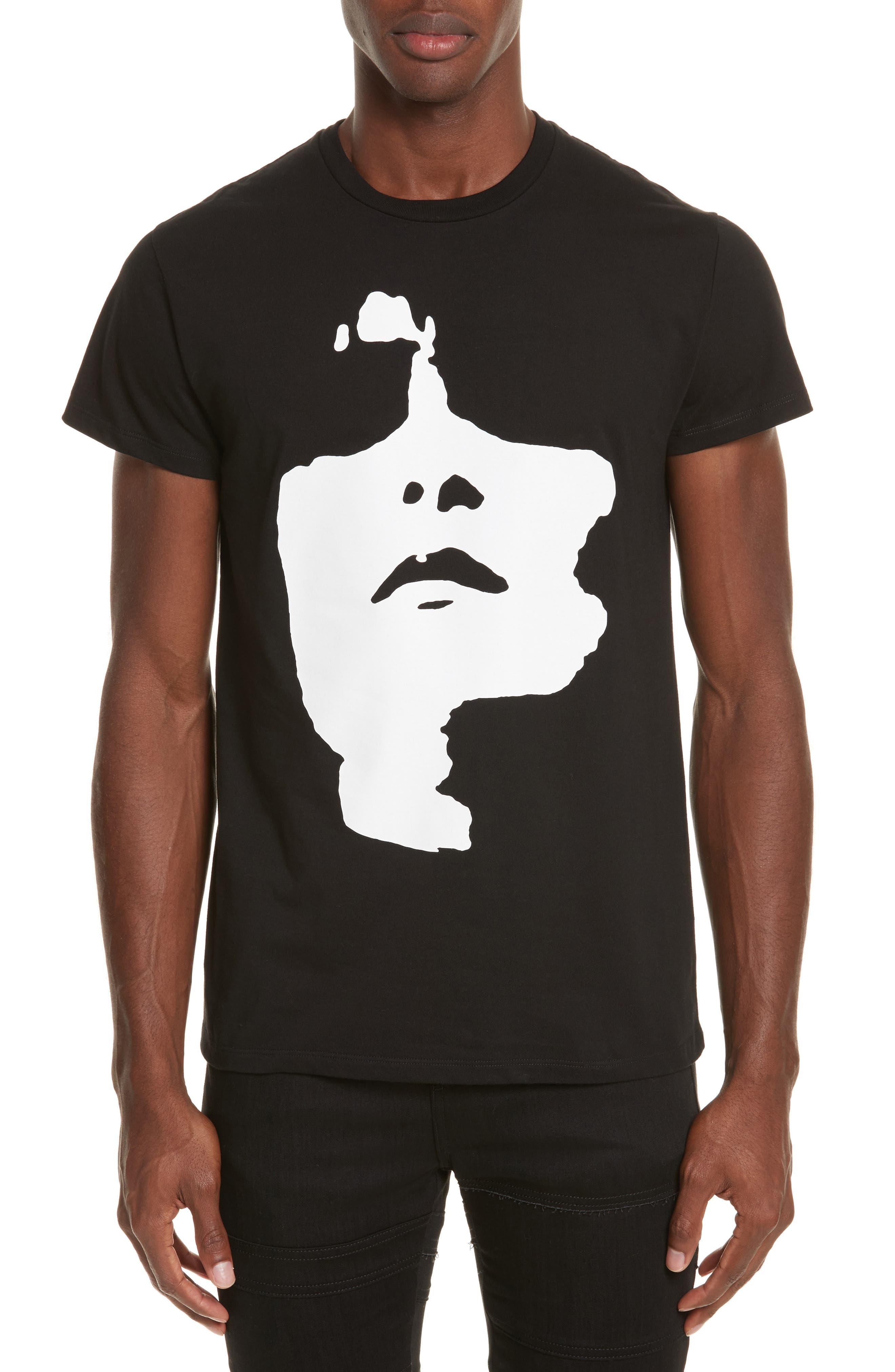 Neil Barrett Siouxsie Face Graphic T-Shirt
