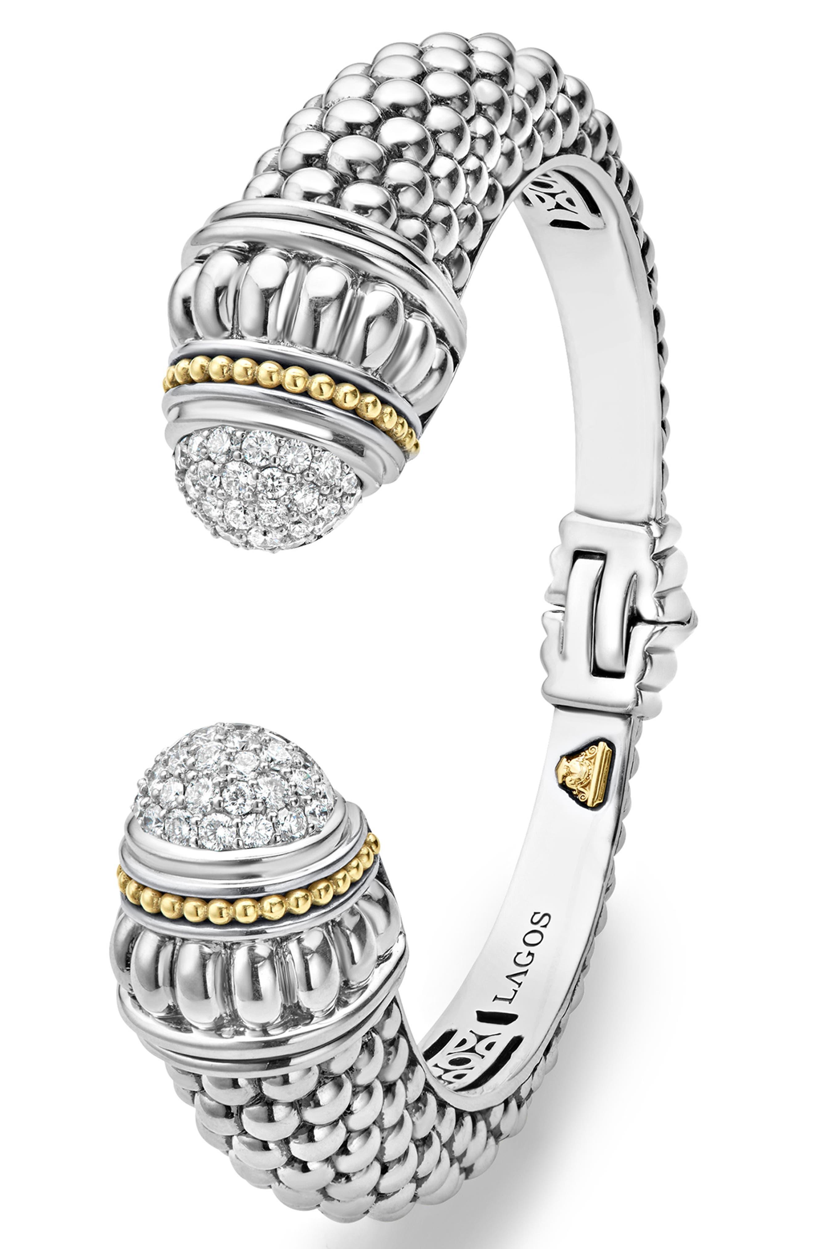 Alternate Image 3  - LAGOS Caviar Diamond Hinge Cuff
