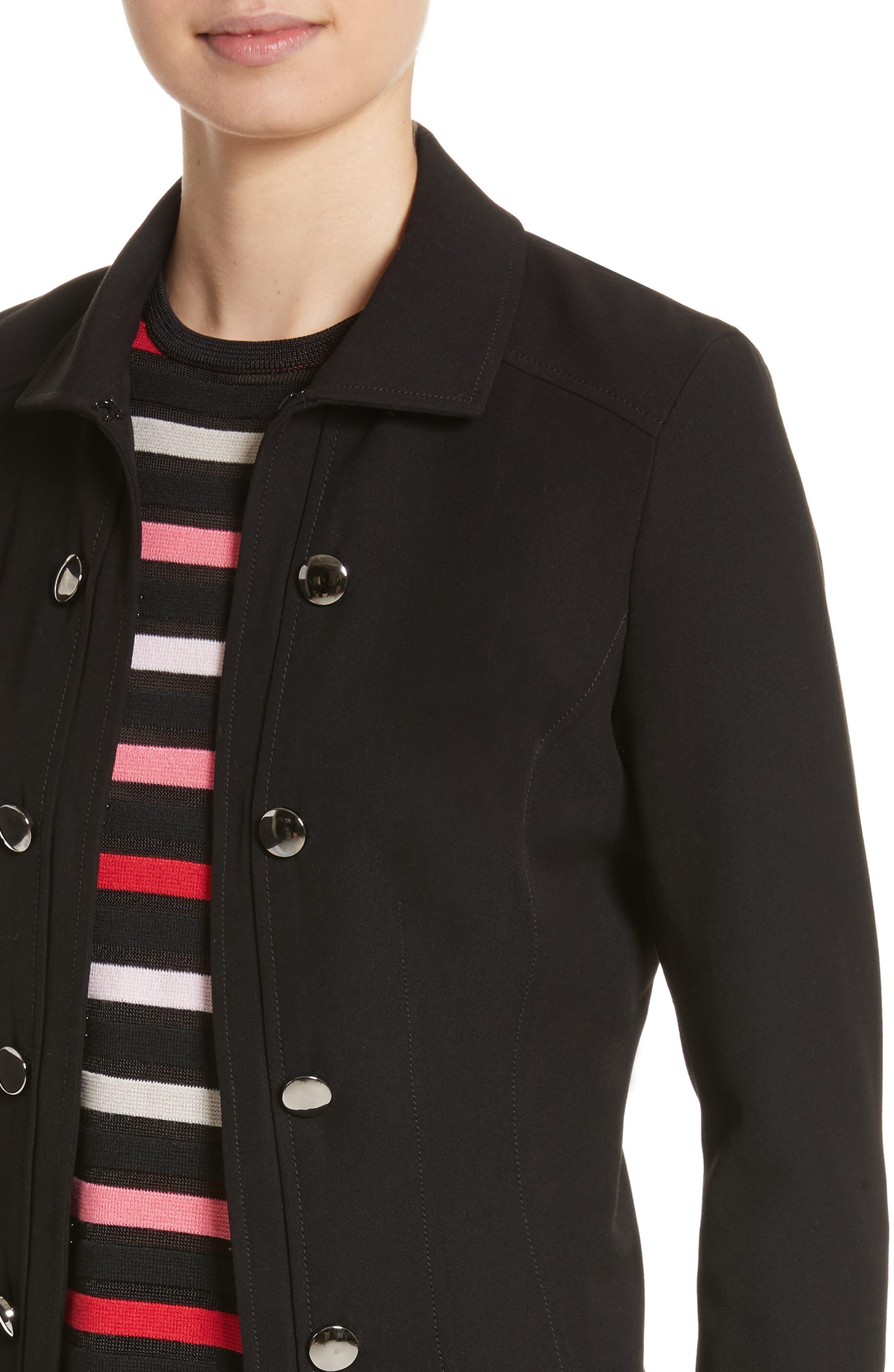 Alternate Image 4  - St. John Collection Bella Double Weave Jacket