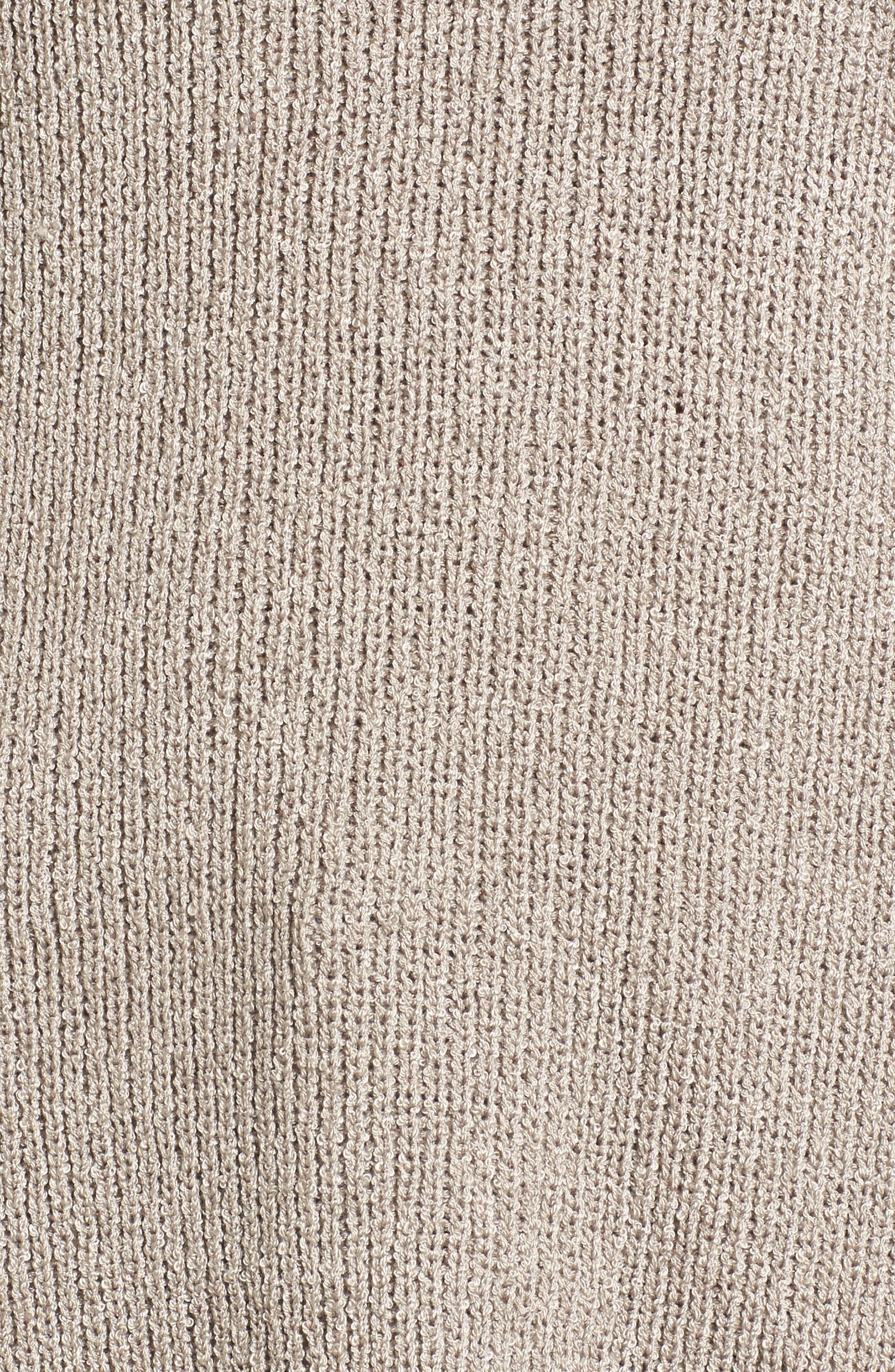 Alternate Image 5  - Tie Sleeve Sweater