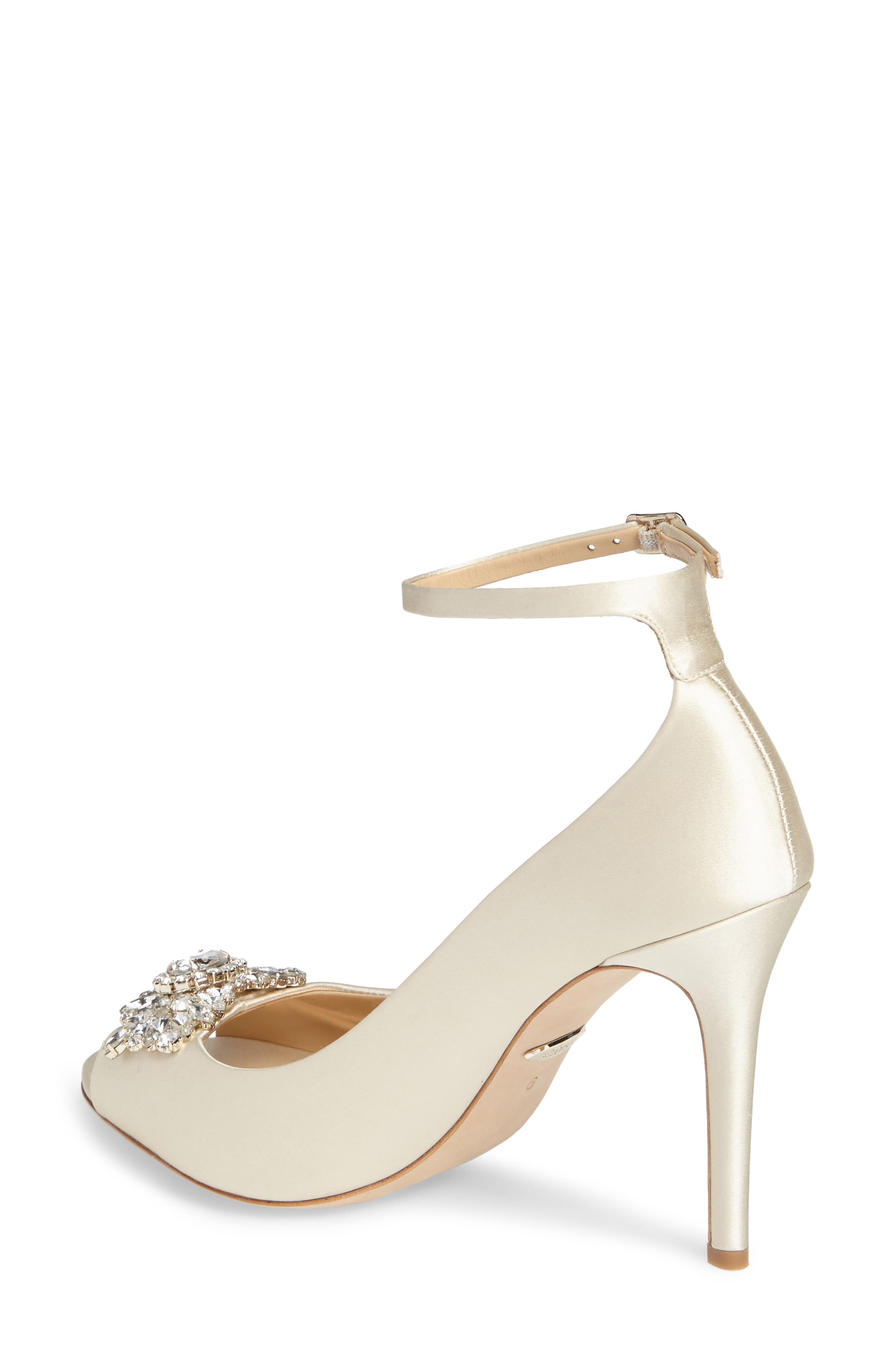Alternate Image 2  - Badgley Mischka Kali Ankle Strap Pump (Women)
