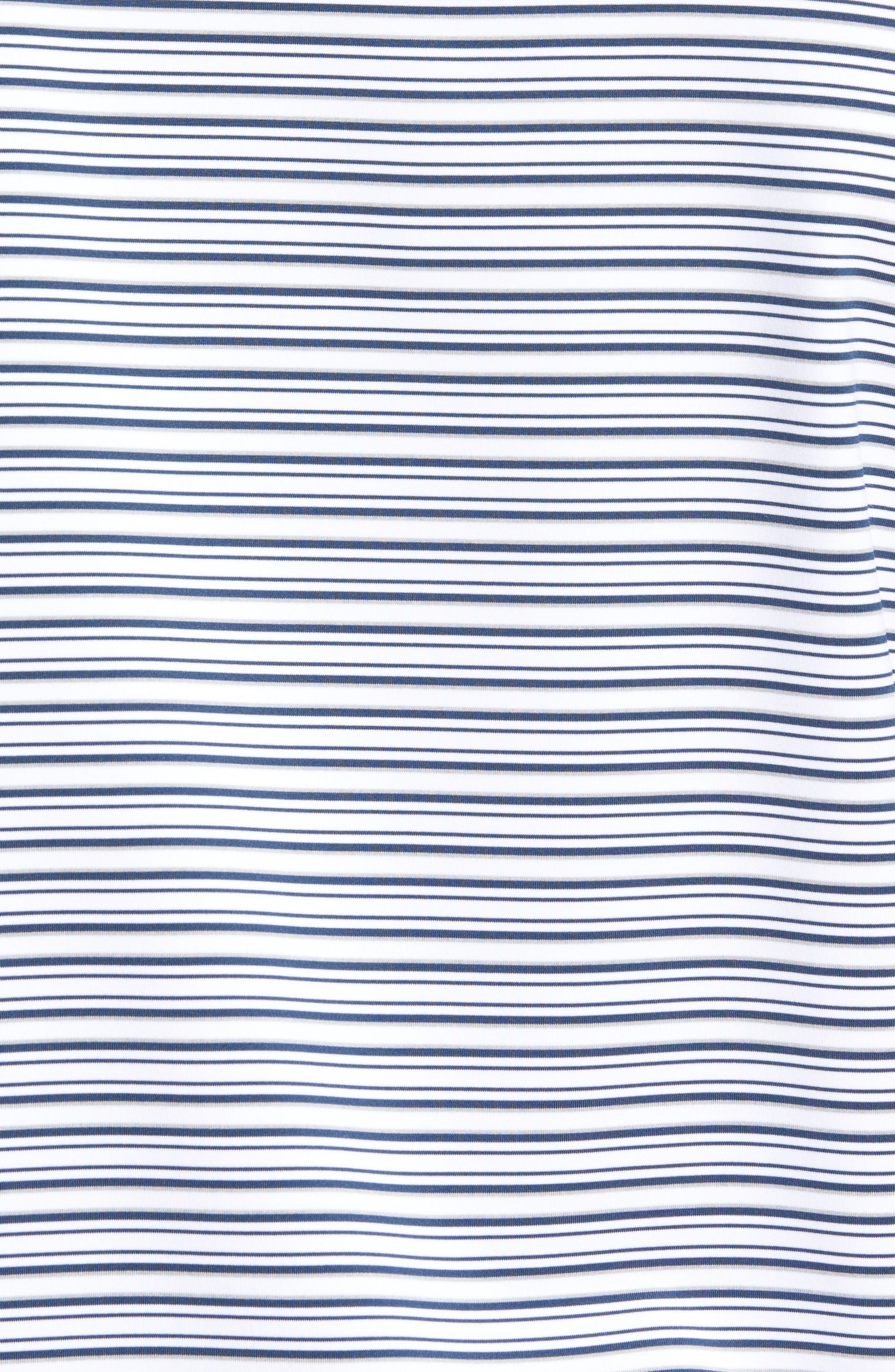 Alternate Image 5  - Peter Millar Barron Sean Stripe Jersey Polo