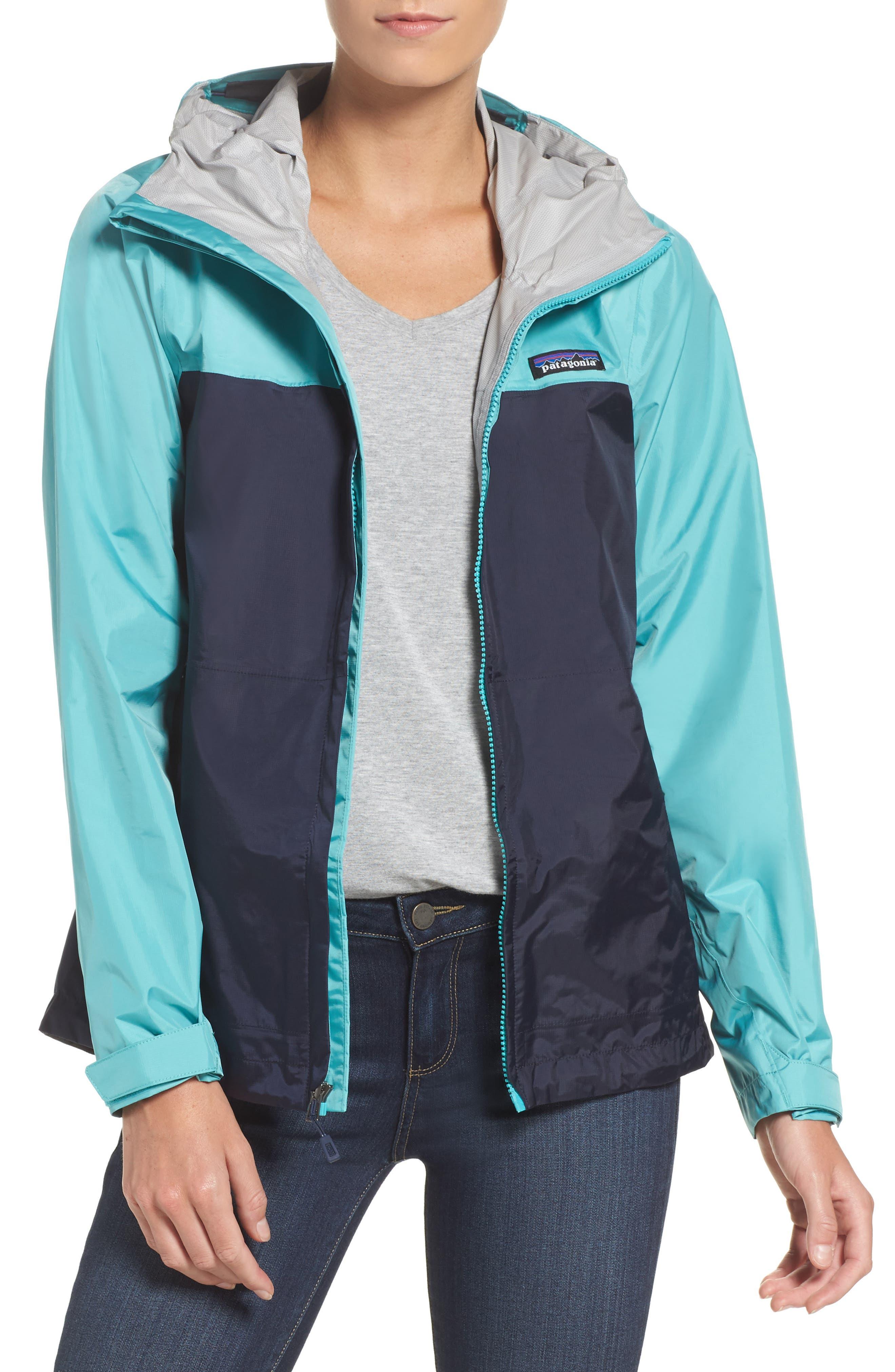 Torrentshell Jacket,                         Main,                         color, Navy Blue/ Strait Blue