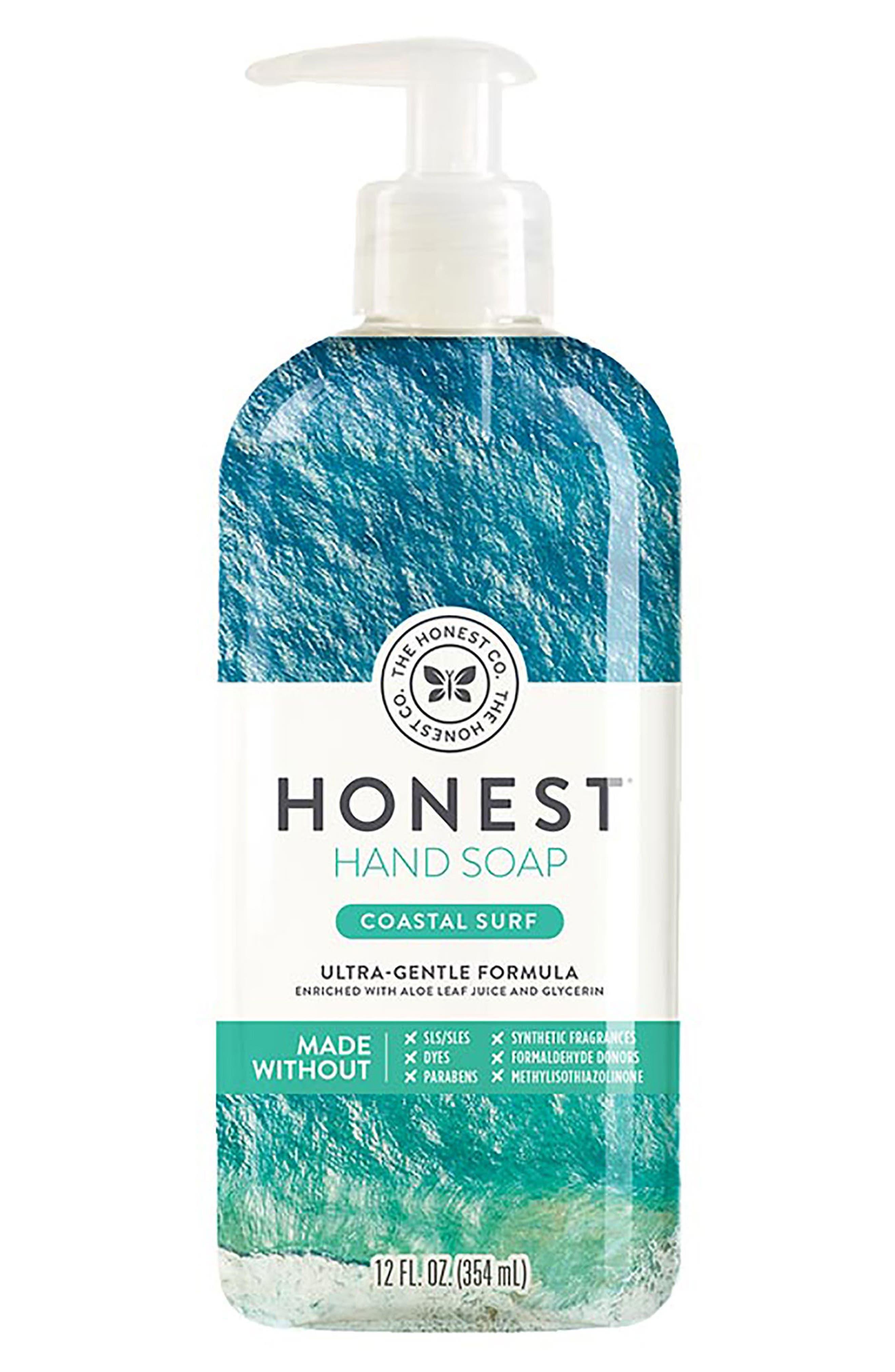 Coastal Surf Hand Soap,                             Main thumbnail 1, color,                             Coastal Surf