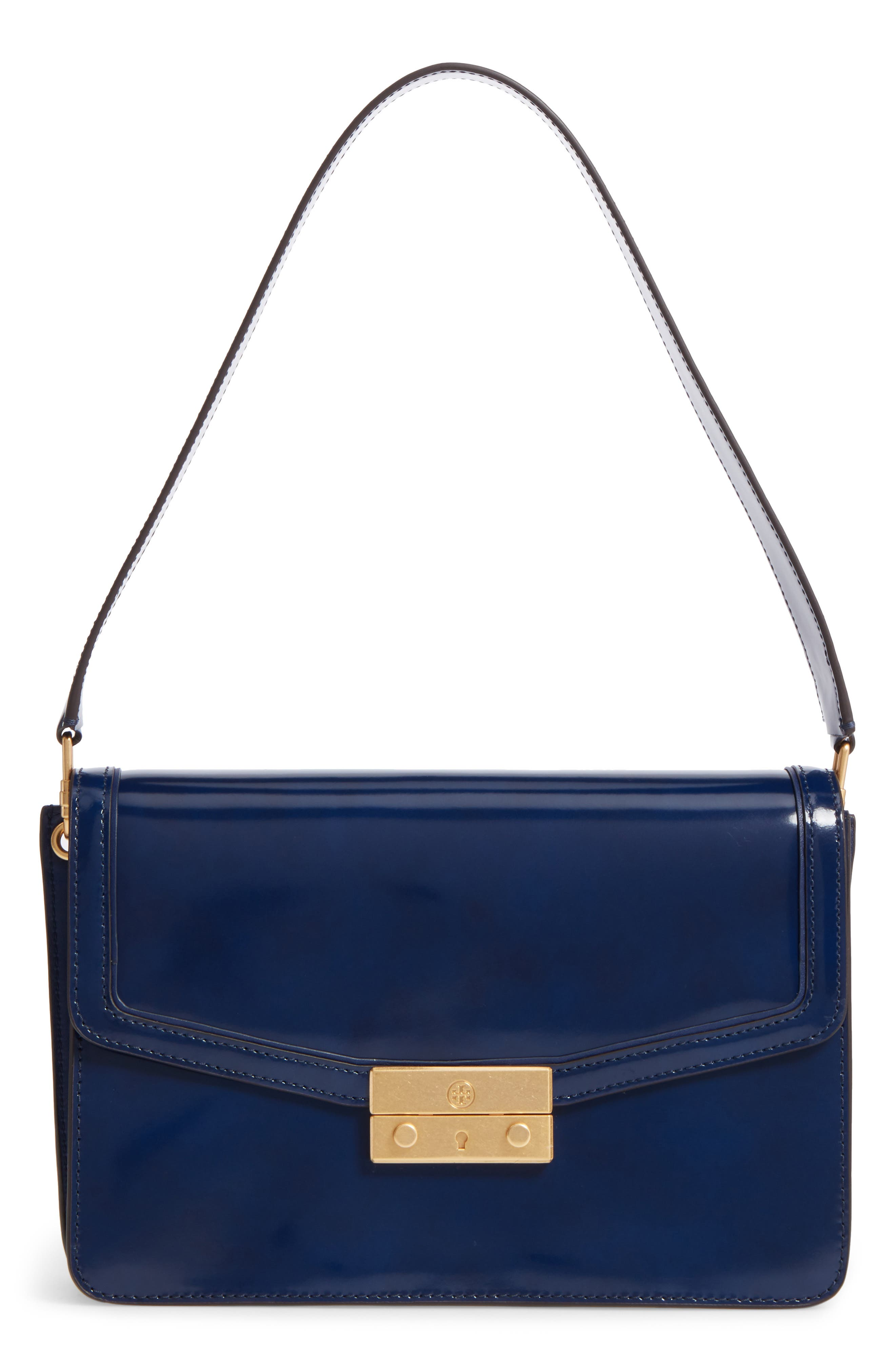 Main Image - Tory Burch Juliette Leather Shoulder Bag