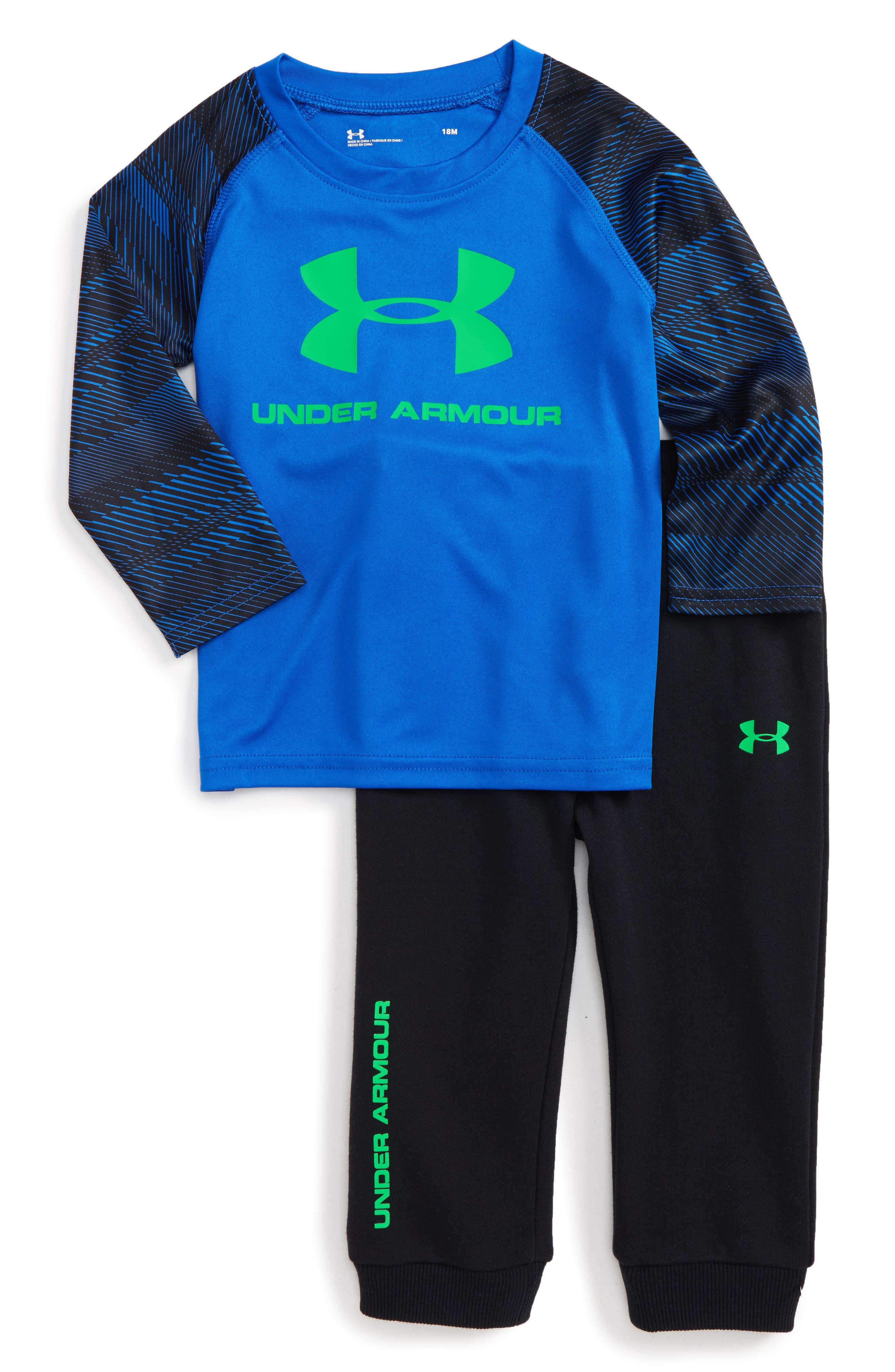 Under Armour Speedlines Core T-Shirt & Pants Set (Baby Boys)