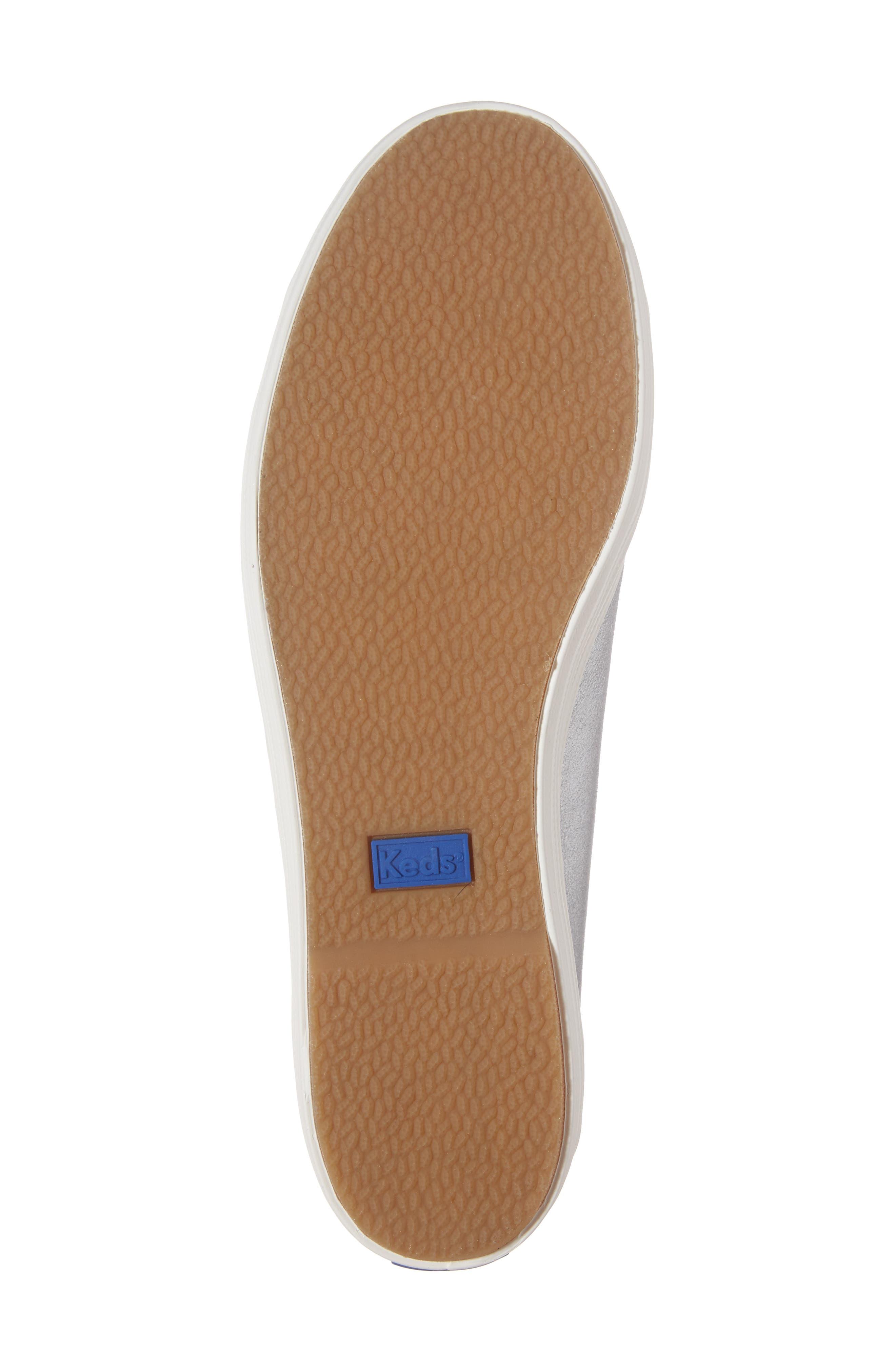 Triple Kick Platform Sneaker,                             Alternate thumbnail 6, color,                             Silver