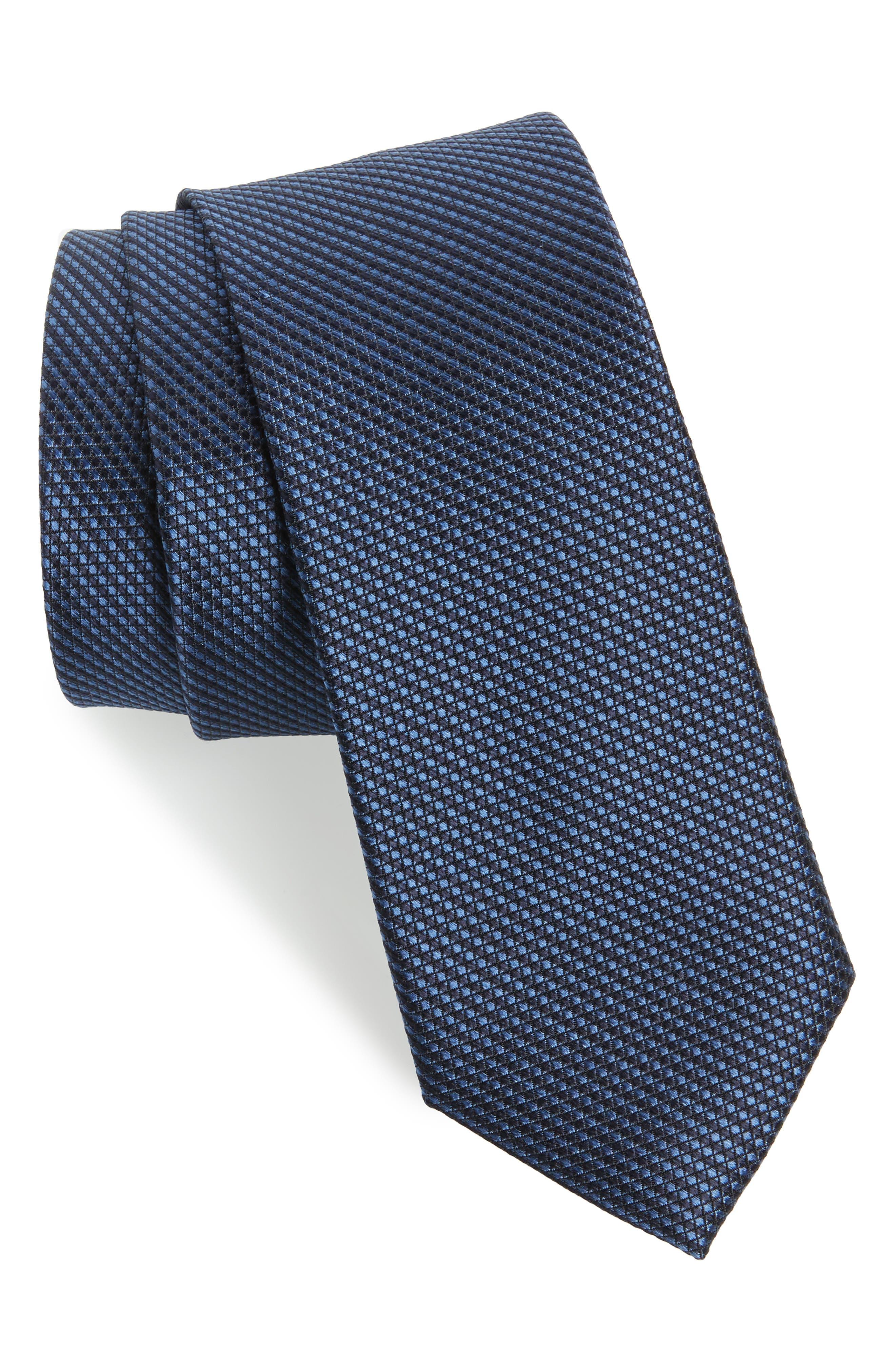 Alternate Image 1 Selected - Ted Baker London Solid Skinny Silk Tie