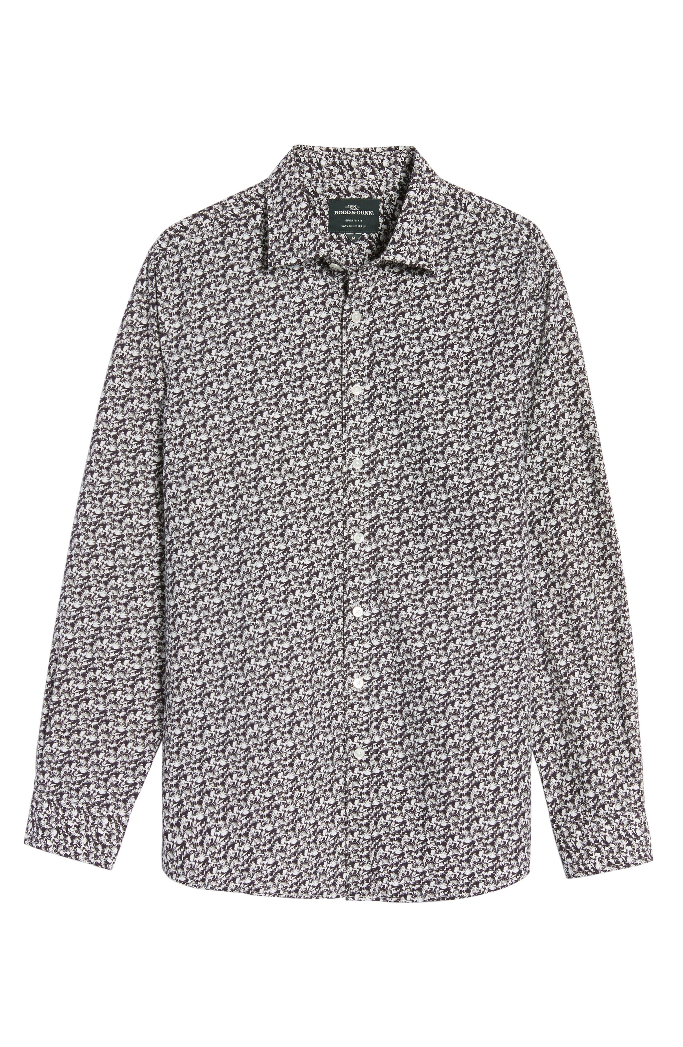 Alternate Image 6  - Rodd & Gunn Bucklands Beach Print Sport Shirt