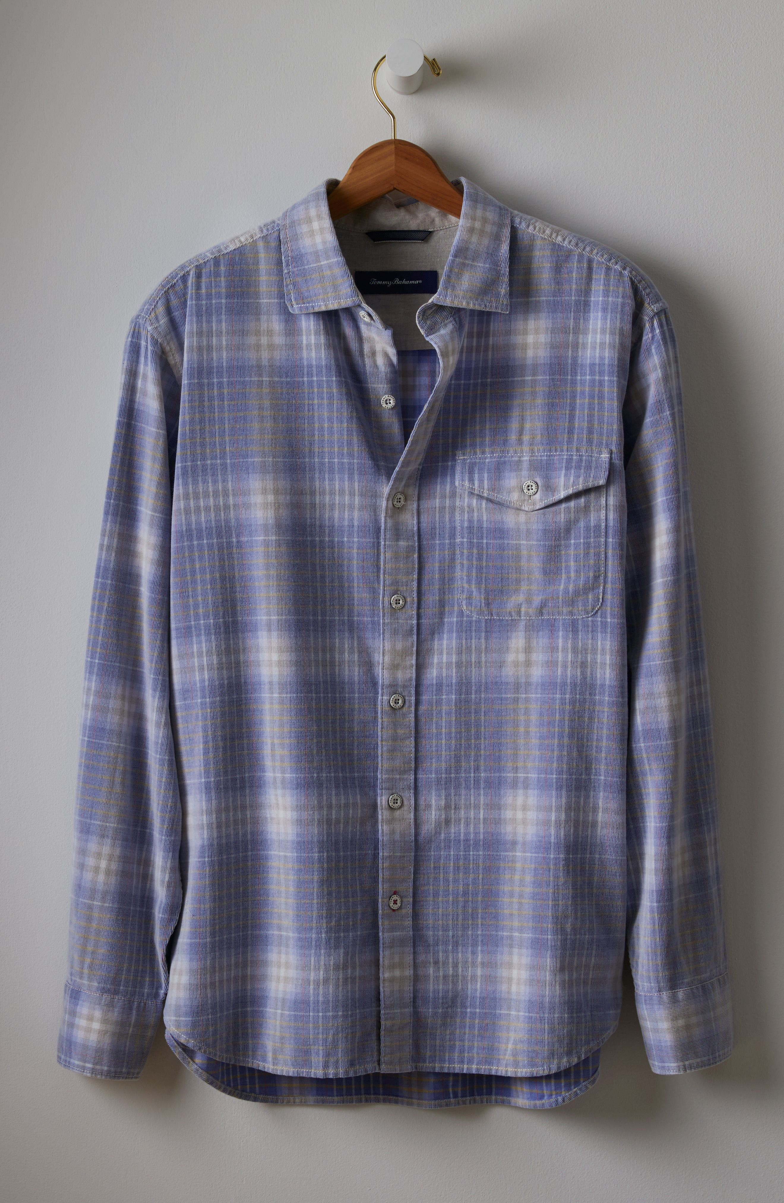 Alternate Image 7  - Tommy Bahama Standard Fit Plaid Sport Shirt