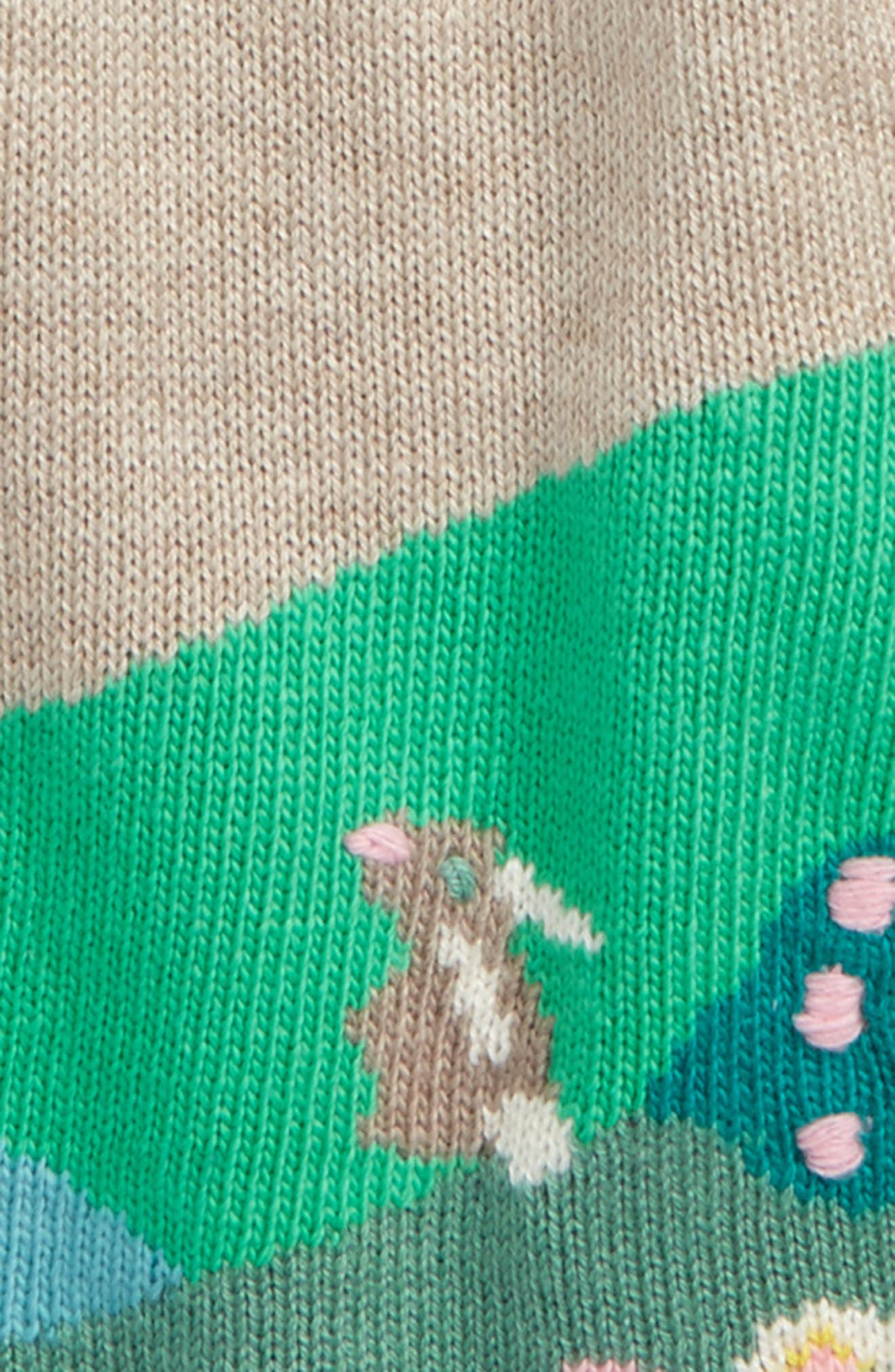 Alternate Image 2  - Mini Boden River Bank Intarsia Knit Dress (Baby Girls & Toddler Girls)