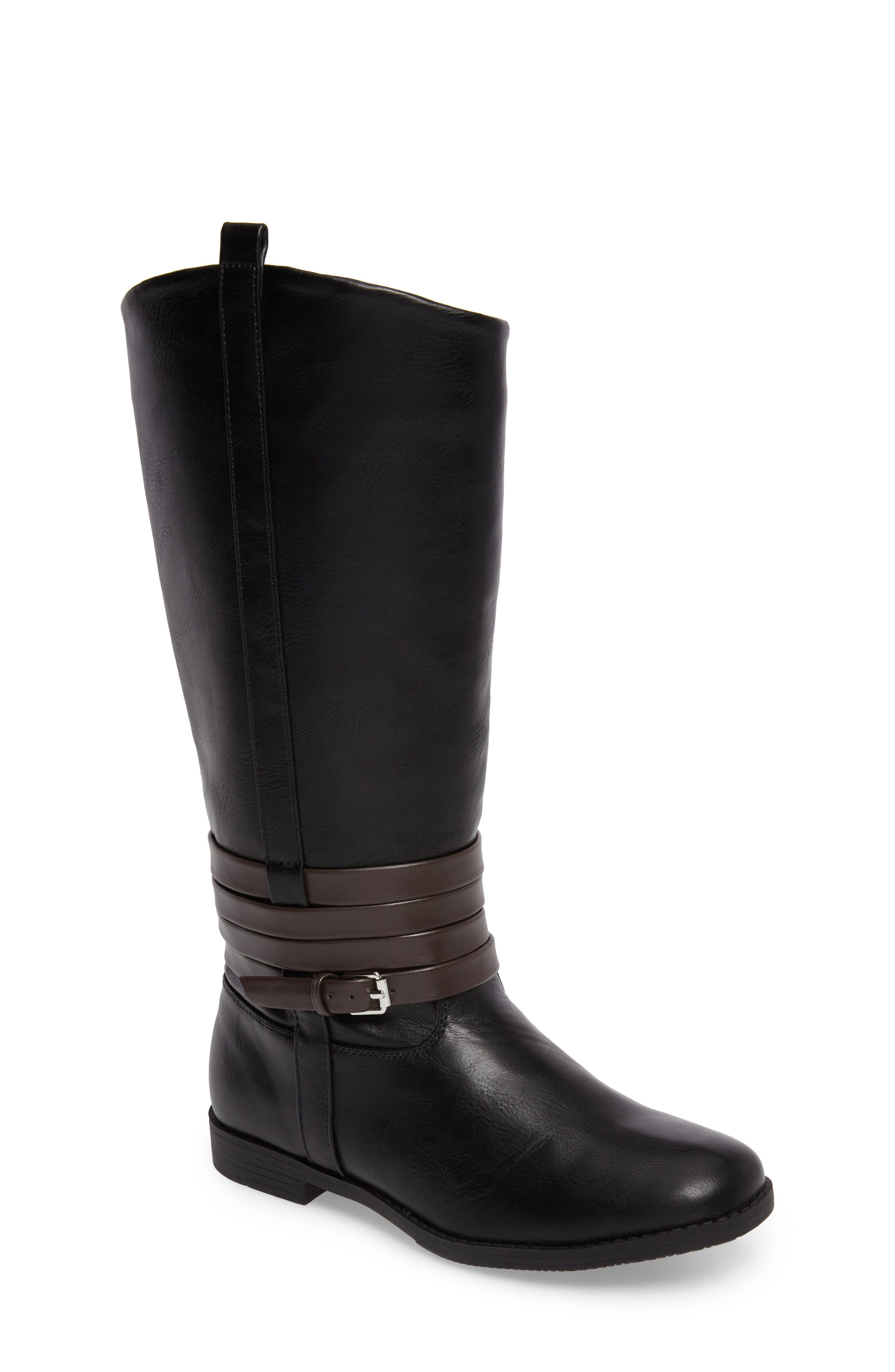 Kennedy Hunt Boot,                         Main,                         color, Black