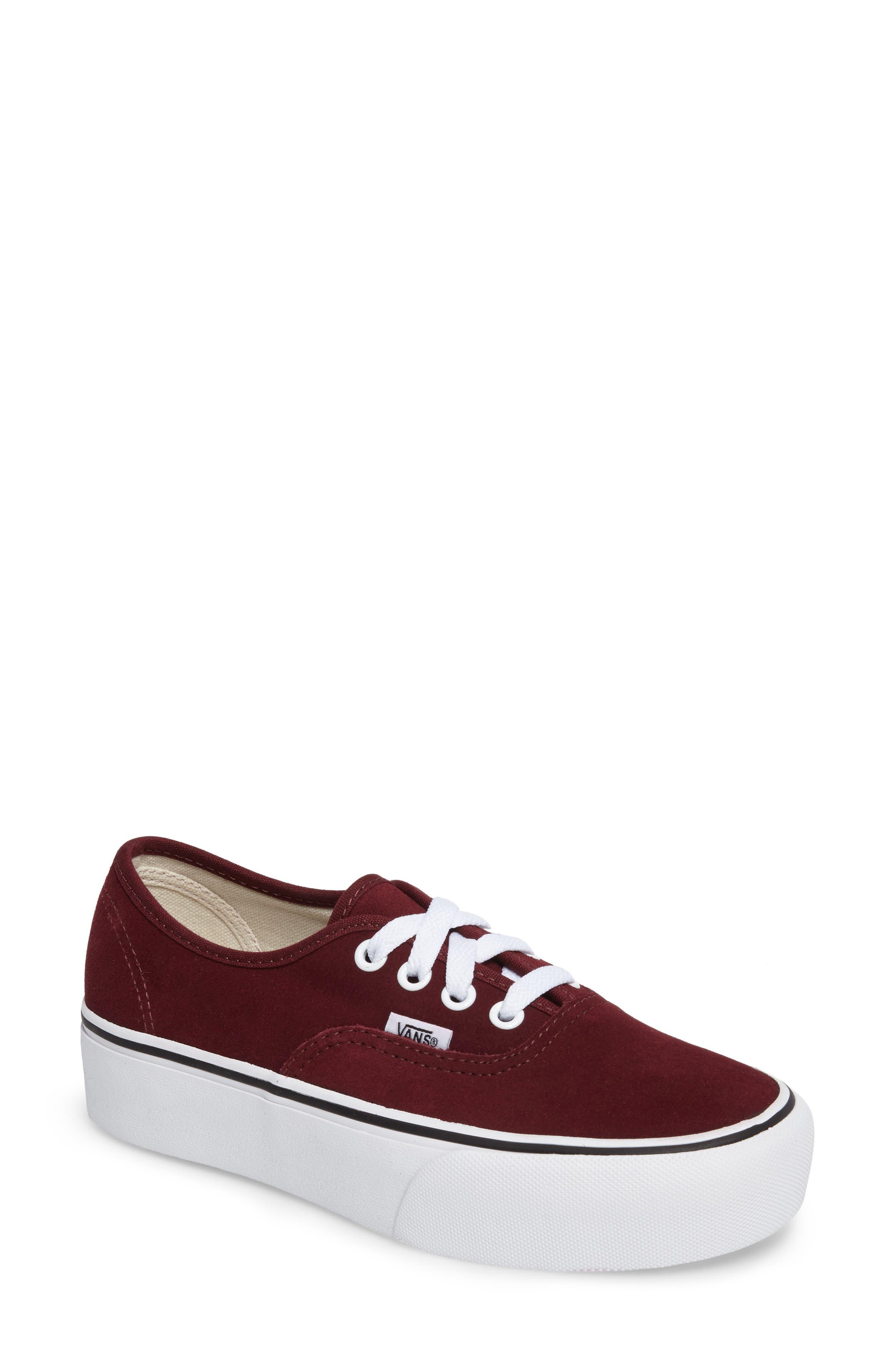 Vans 'Authentic' Platform Sneaker (Women)