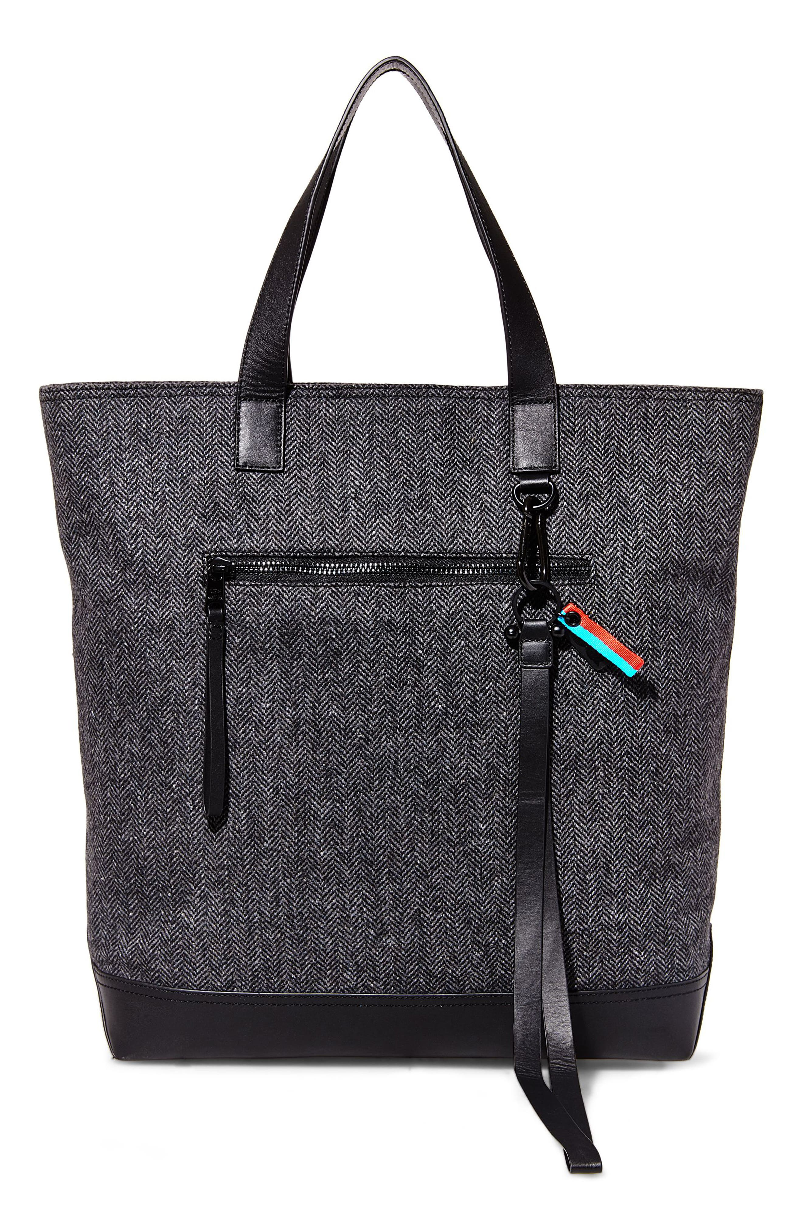 GQ x Steve Madden Tote Bag,                         Main,                         color, Grey