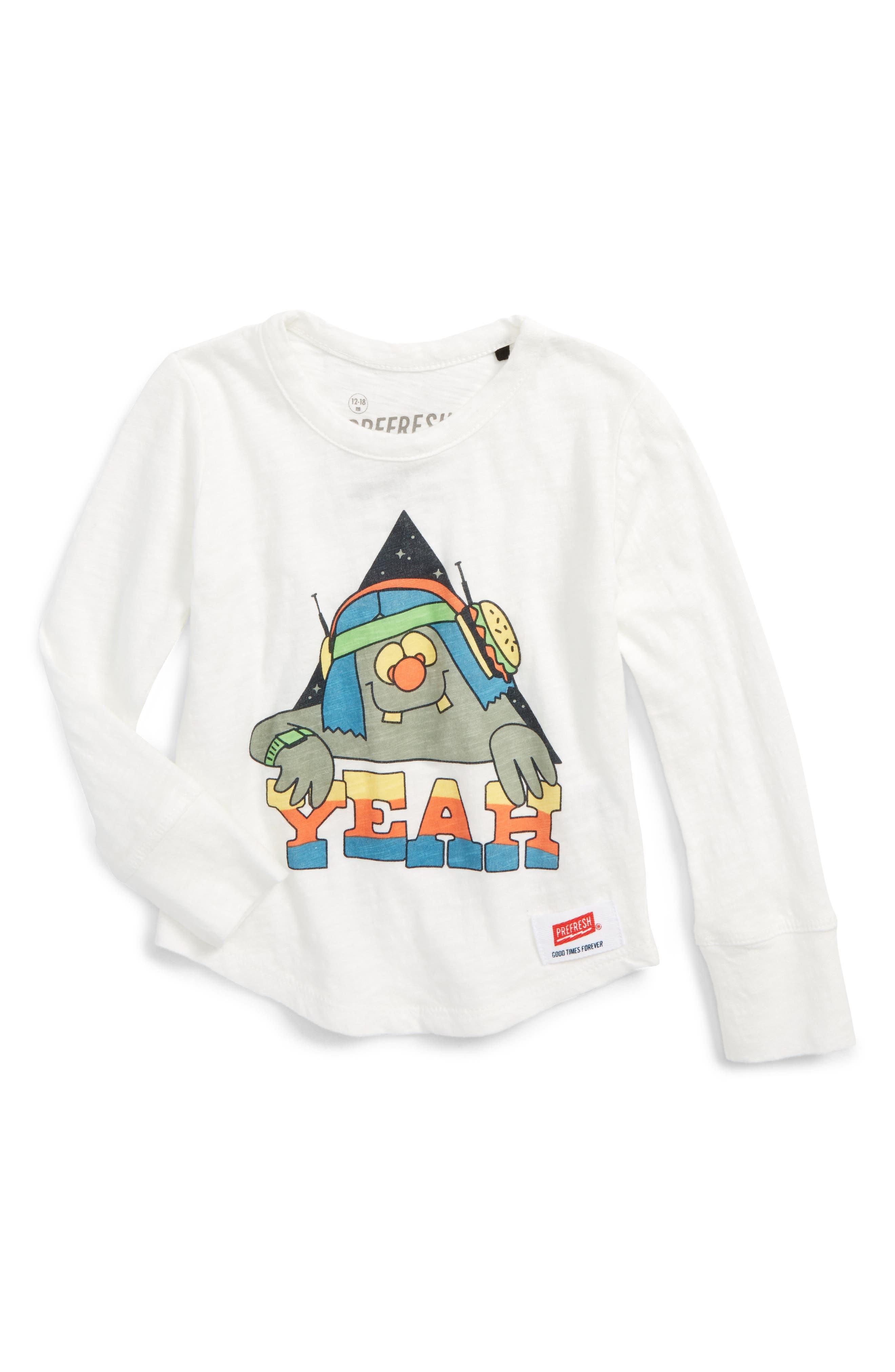 Prefresh Yeah Guy Graphic T-Shirt (Baby Girls)