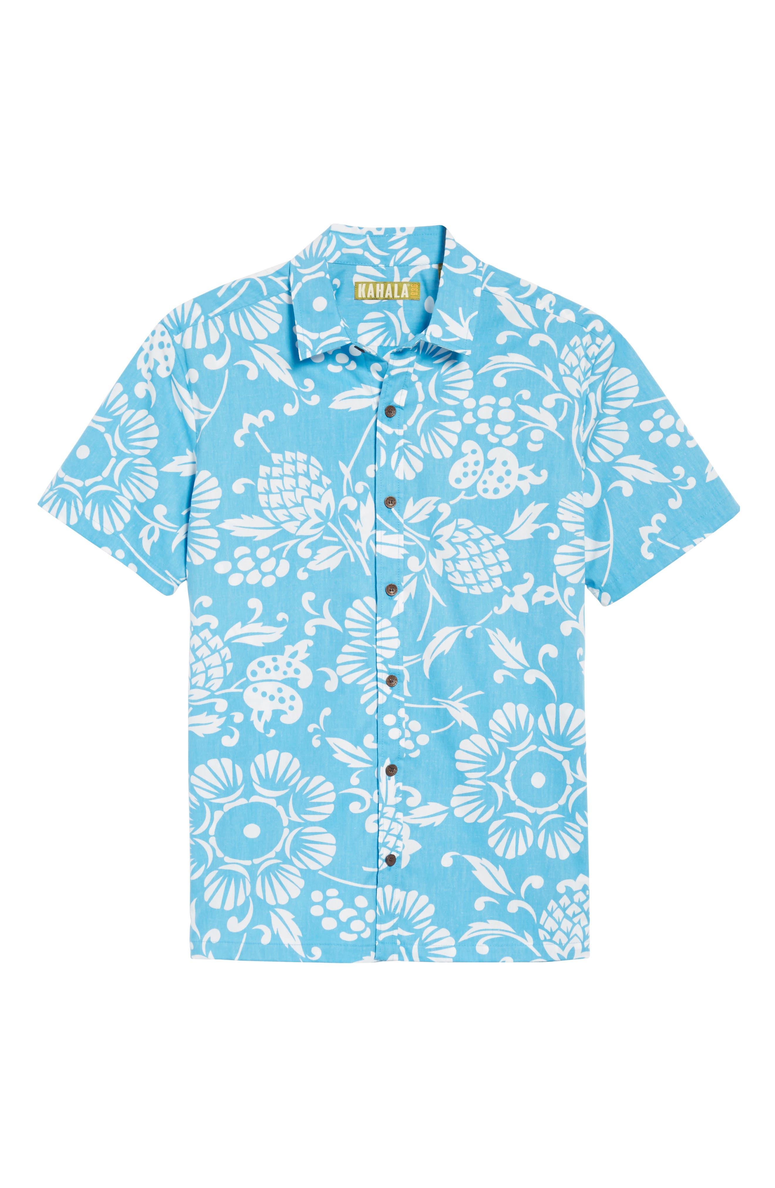 Alternate Image 6  - Kahala 'Dukes Par' Trim Fit Sport Shirt
