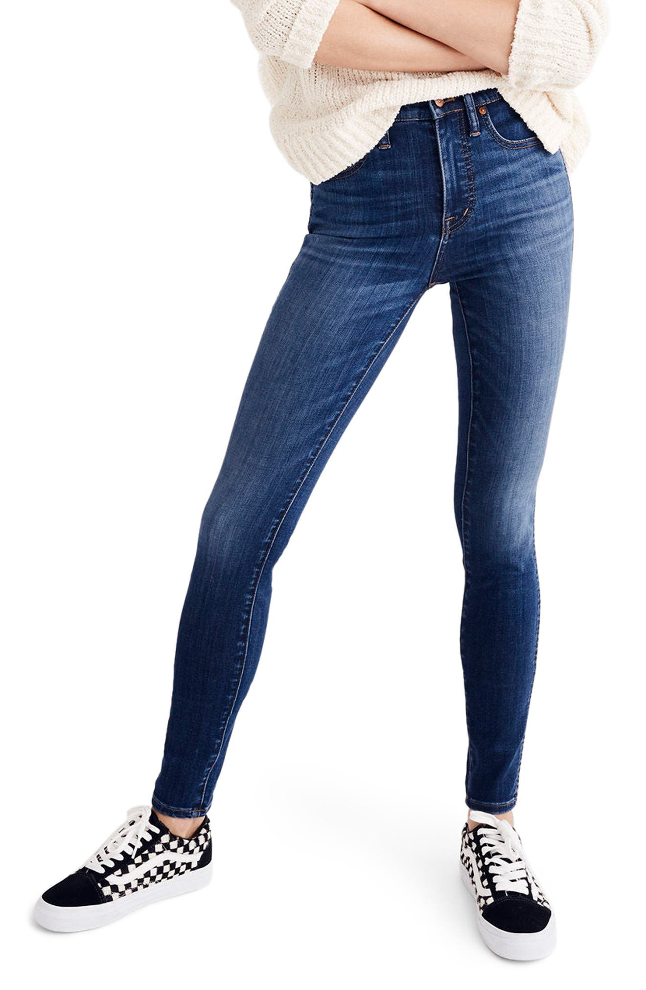 10-Inch High Waist Skinny Jeans,                             Alternate thumbnail 2, color,                             Danny