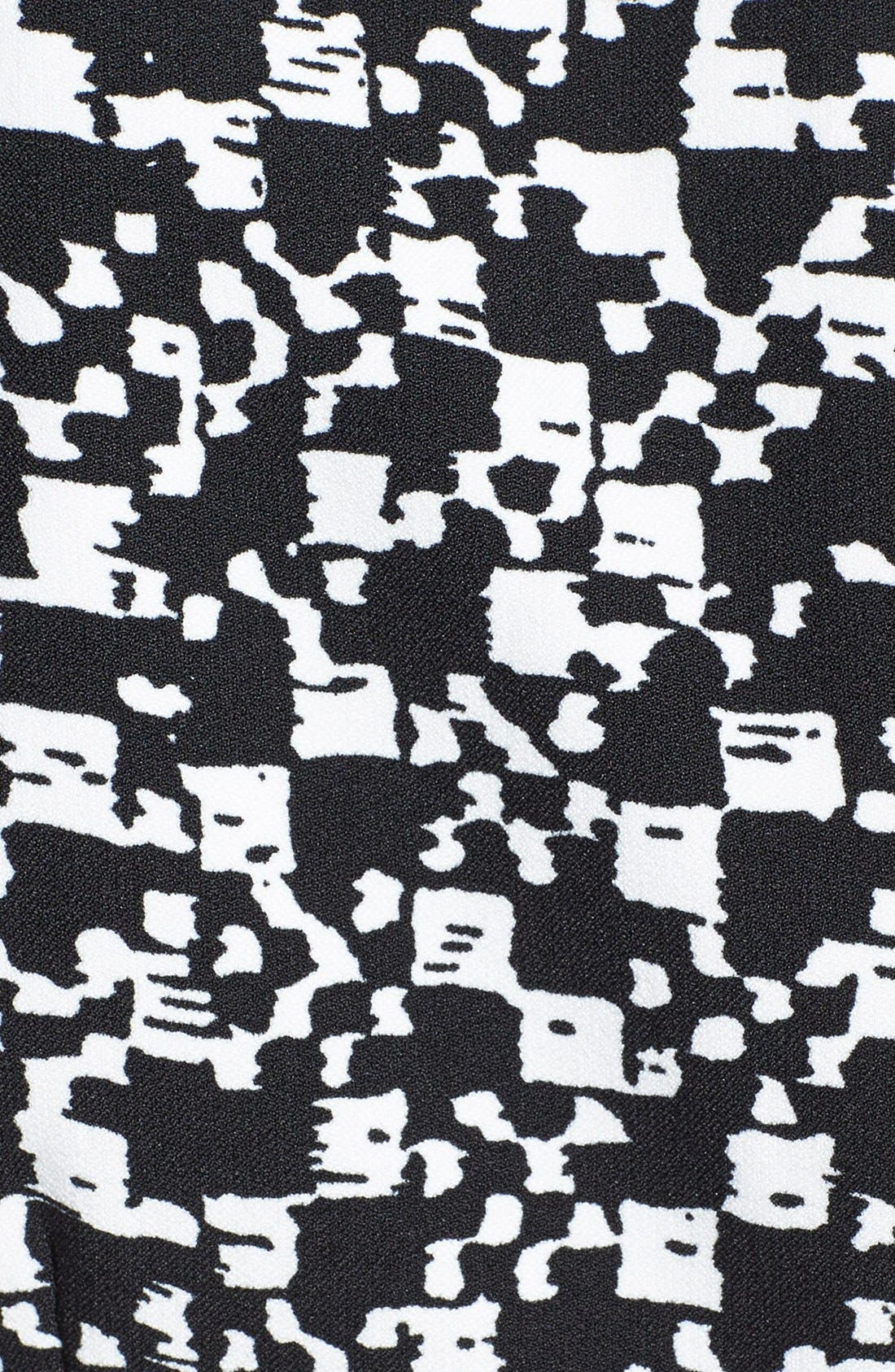 Alternate Image 4  - Adrianna Papell Print Crepe Split Neck Sheath Dress