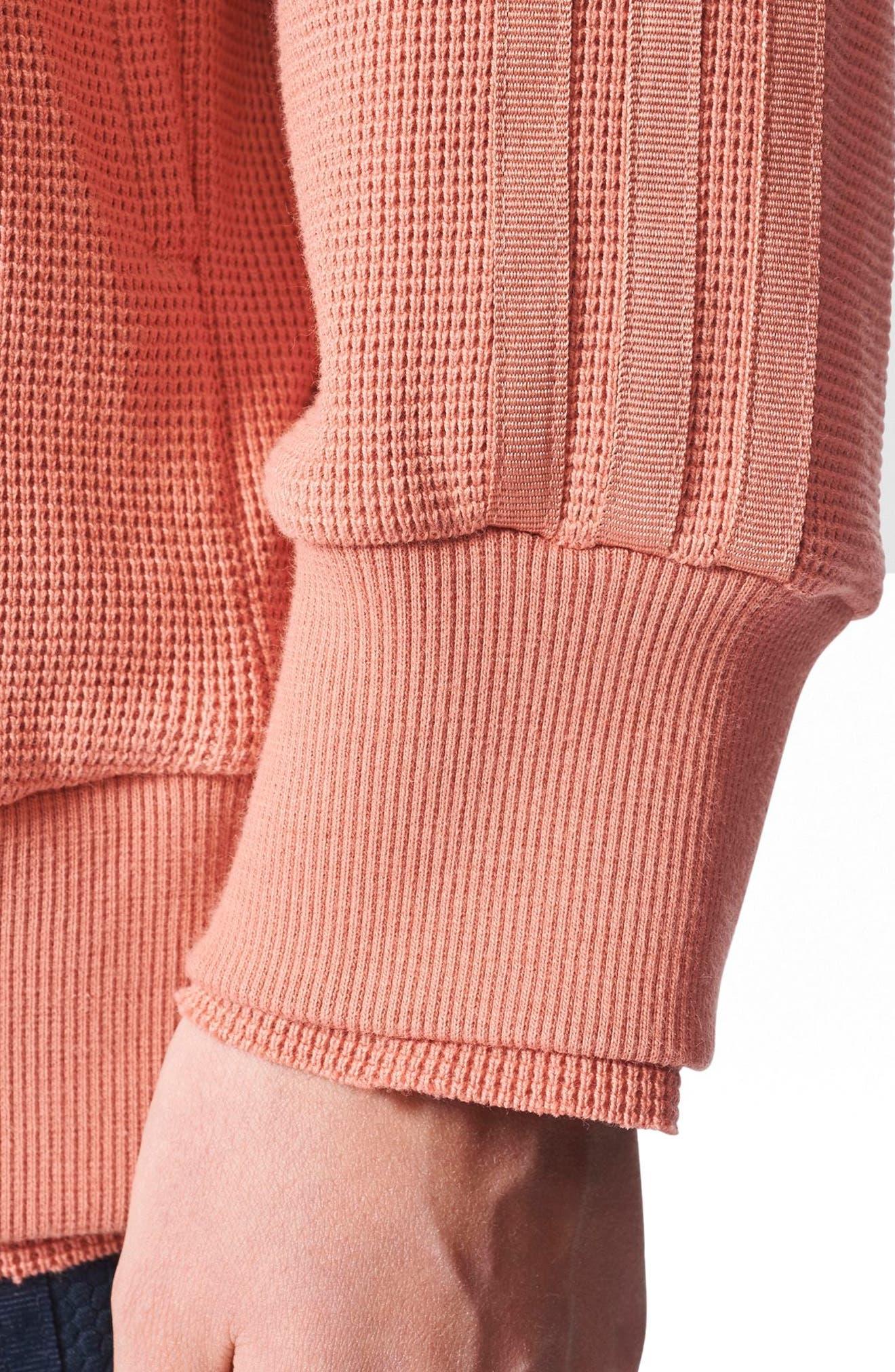 Originals Thermal Sweatshirt,                             Alternate thumbnail 6, color,                             Raw Pink