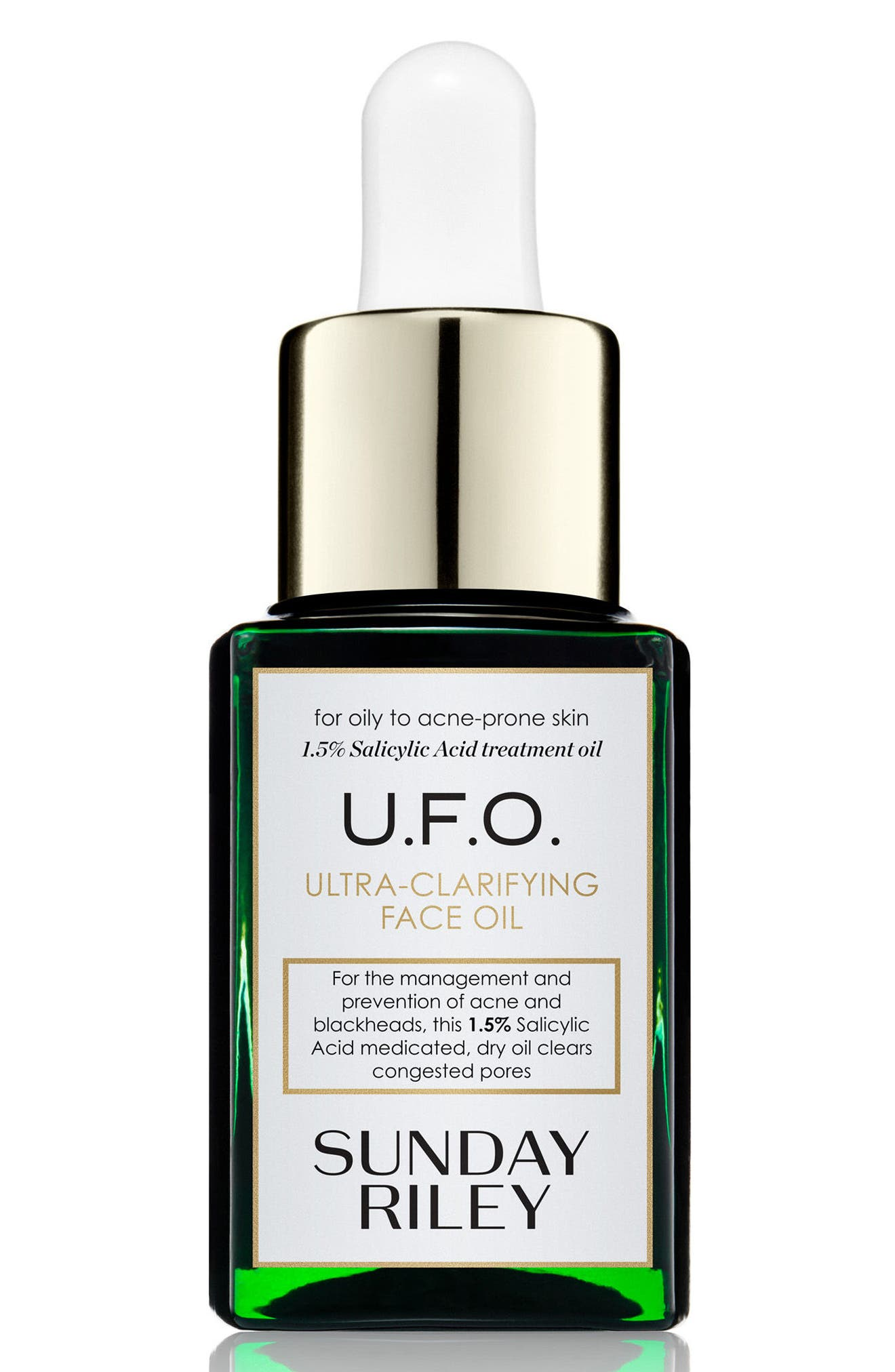 SPACE.NK.apothecary Sunday Riley U.F.O. Ultra-Clarifying Face Oil,                             Alternate thumbnail 2, color,                             No Color