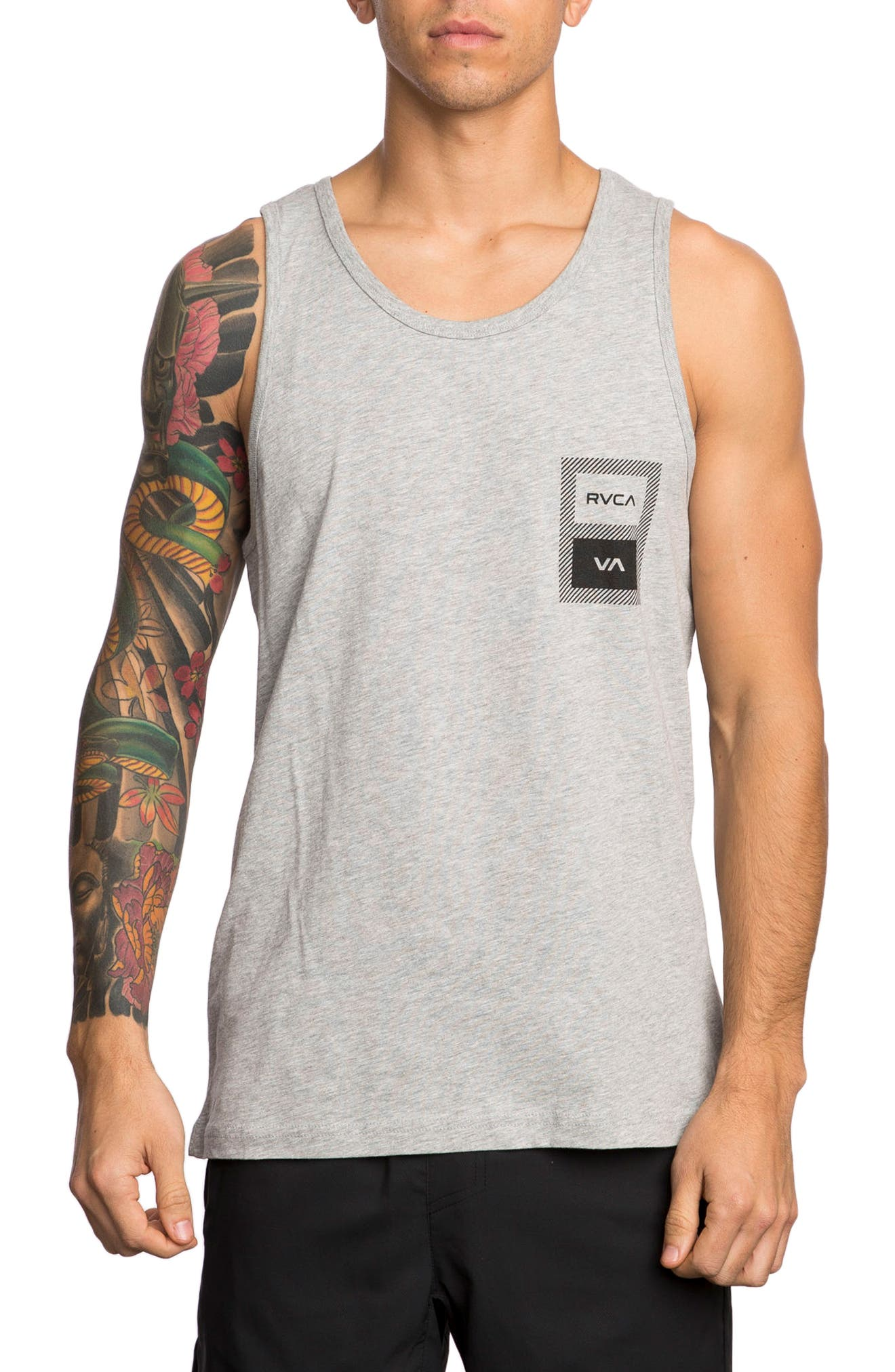 RVCA Box Label Tank