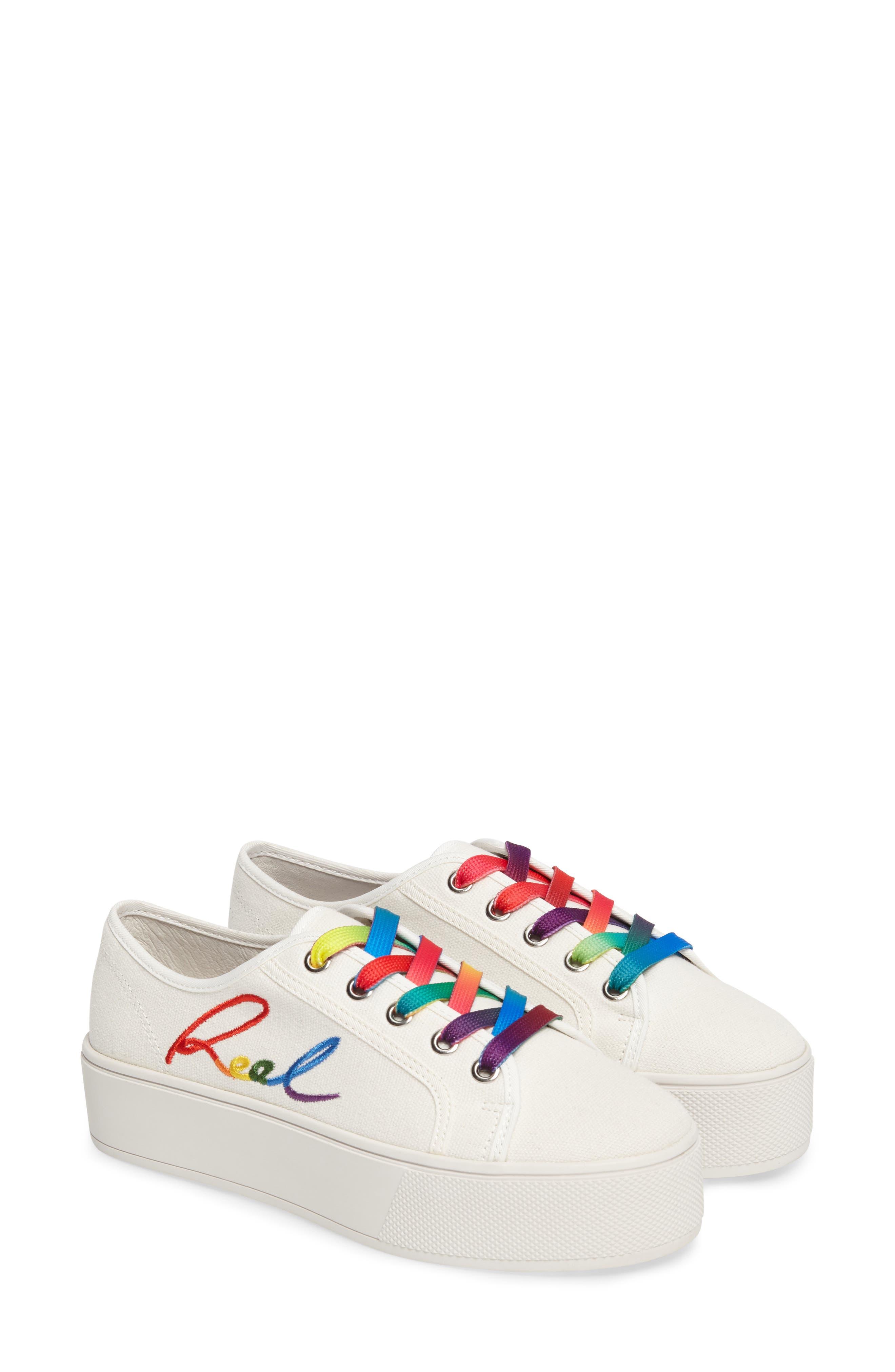 Steve Madden Fink Platform Sneaker (Women)