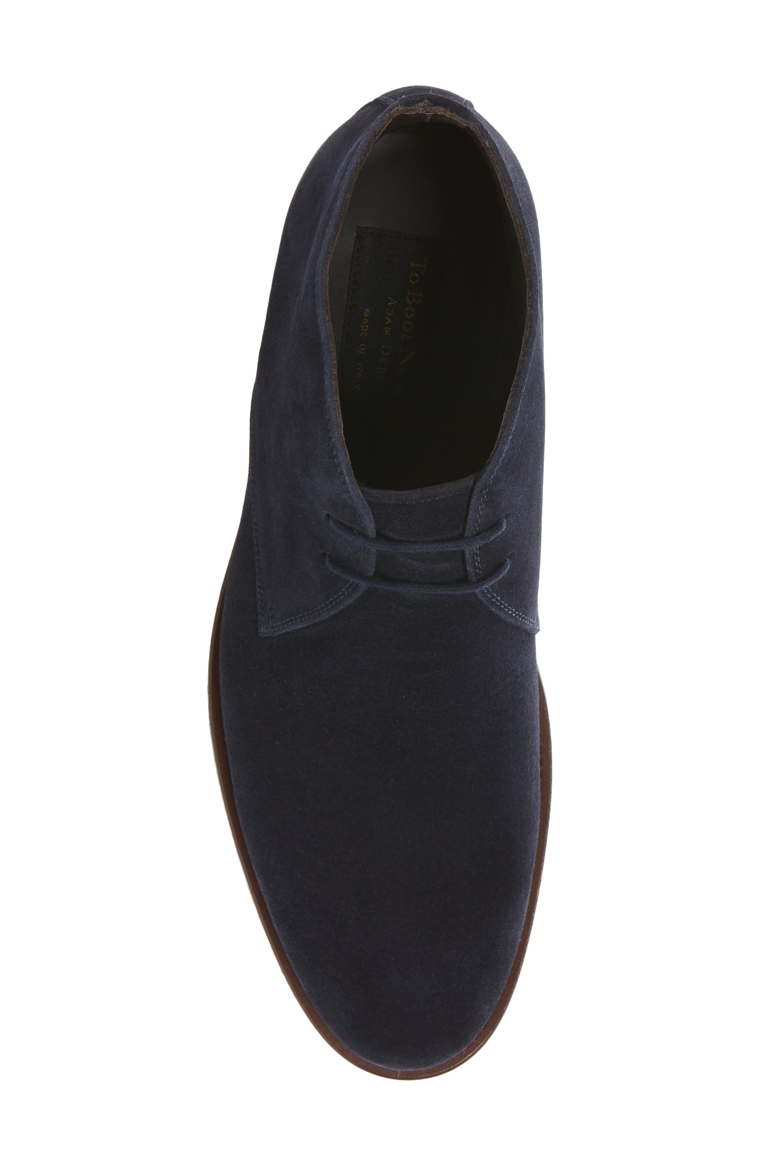 Franklin Chukka Boot,                             Alternate thumbnail 5, color,                             Blue Suede