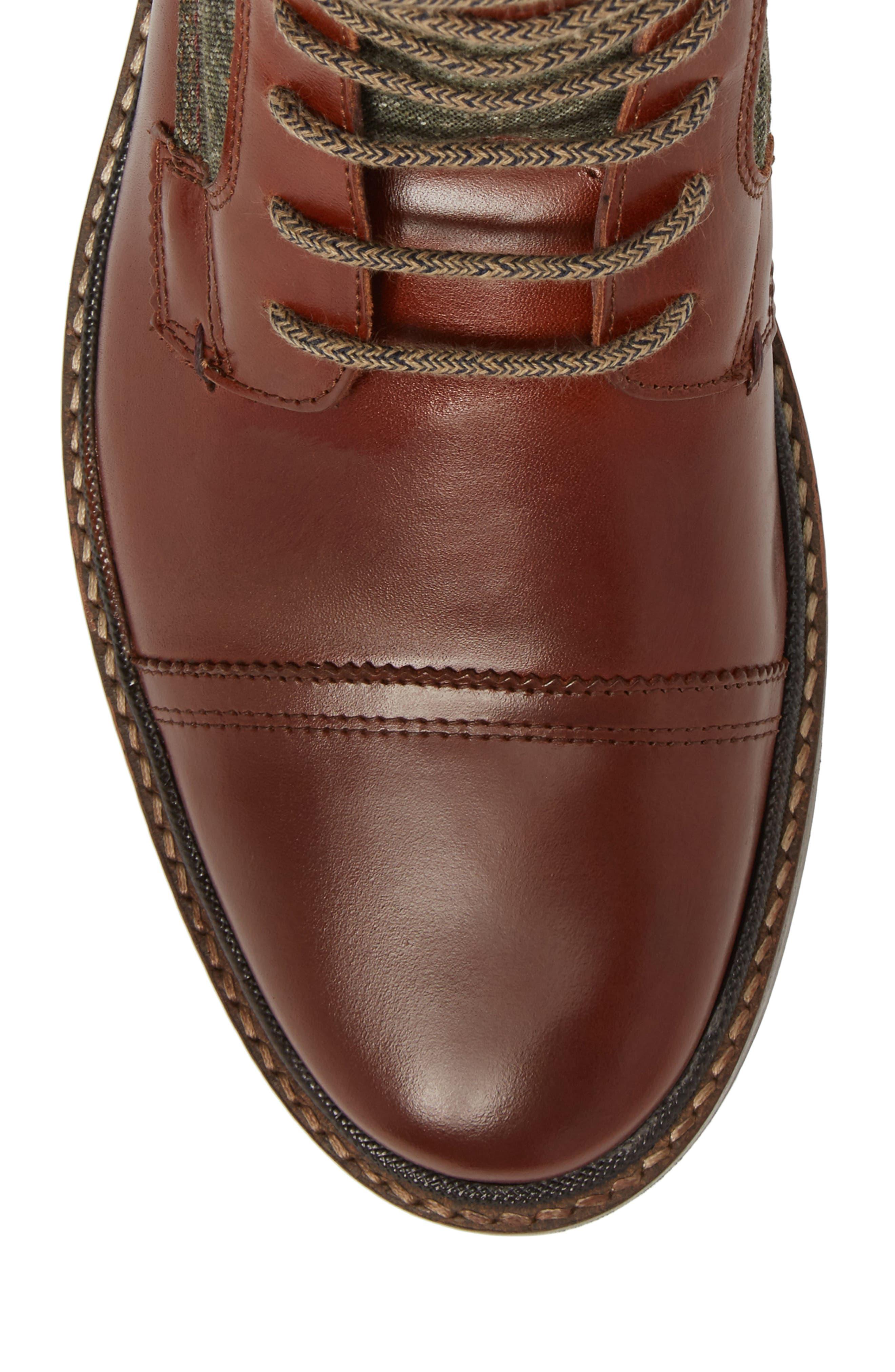 Alternate Image 5  - Ted Baker London Ruulen Cap Toe Boot (Men)