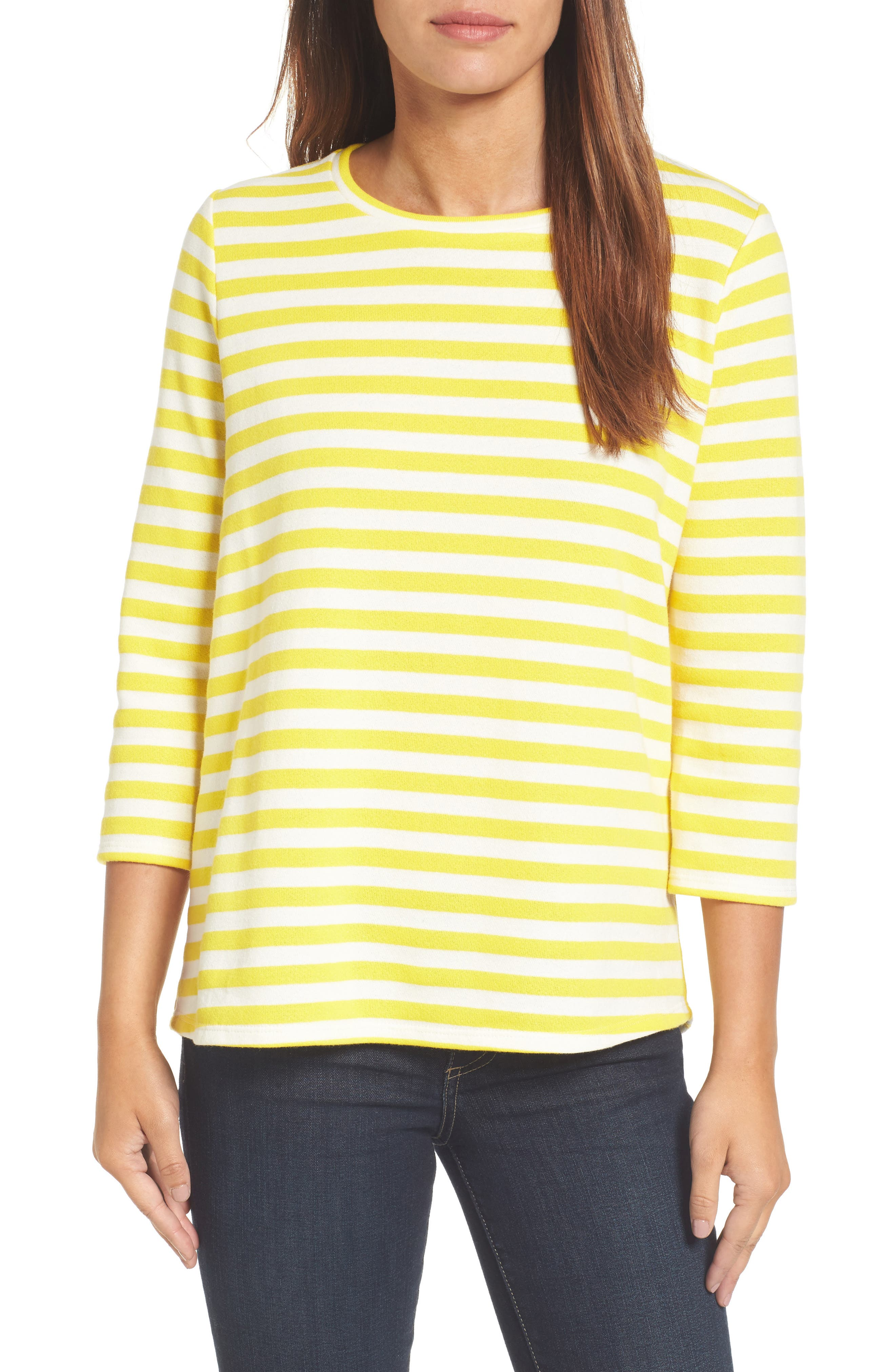 Halogen High/Low Cross Back Sweatshirt