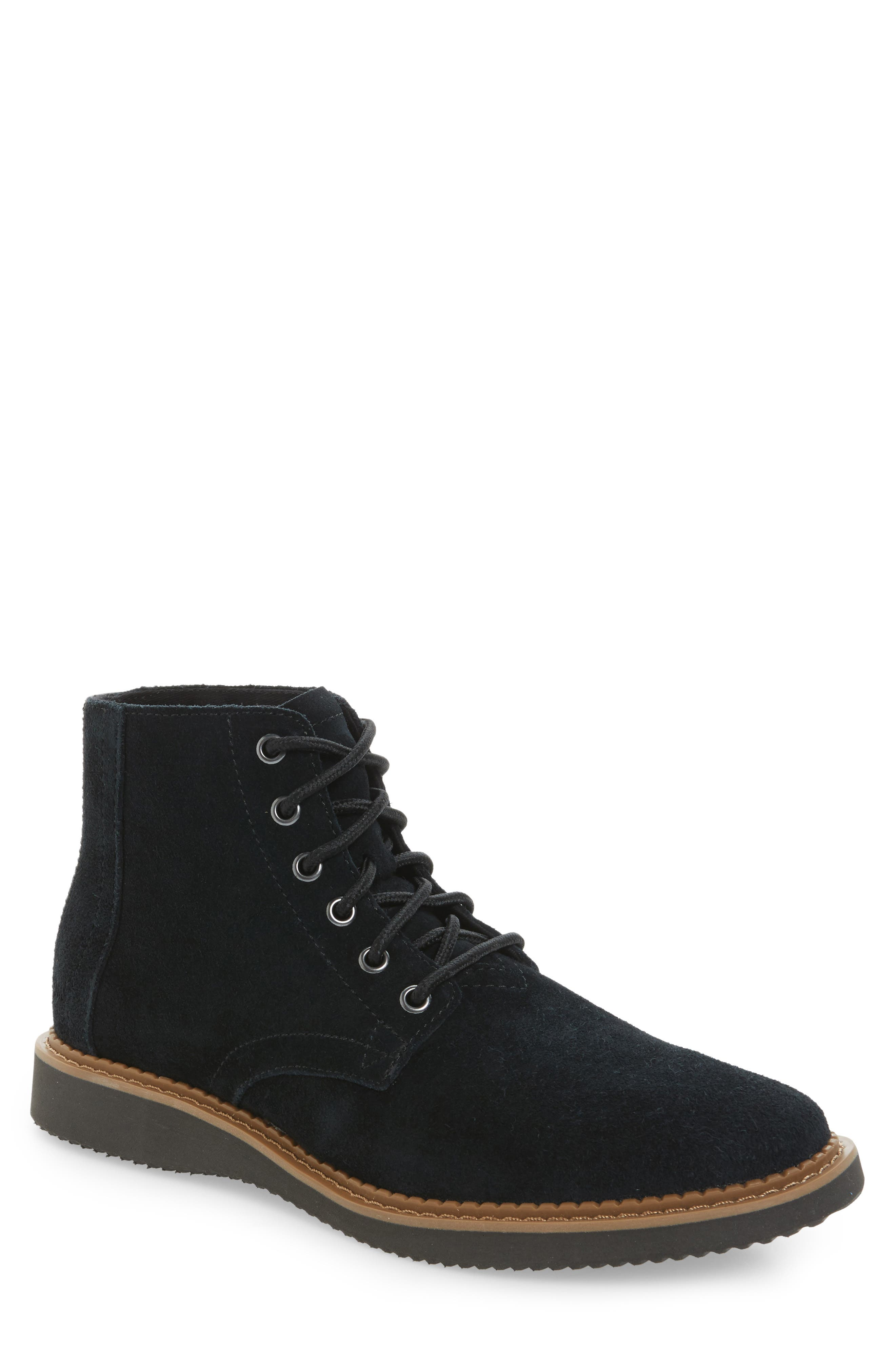 TOMS Porter Plain Toe Boot (Men)