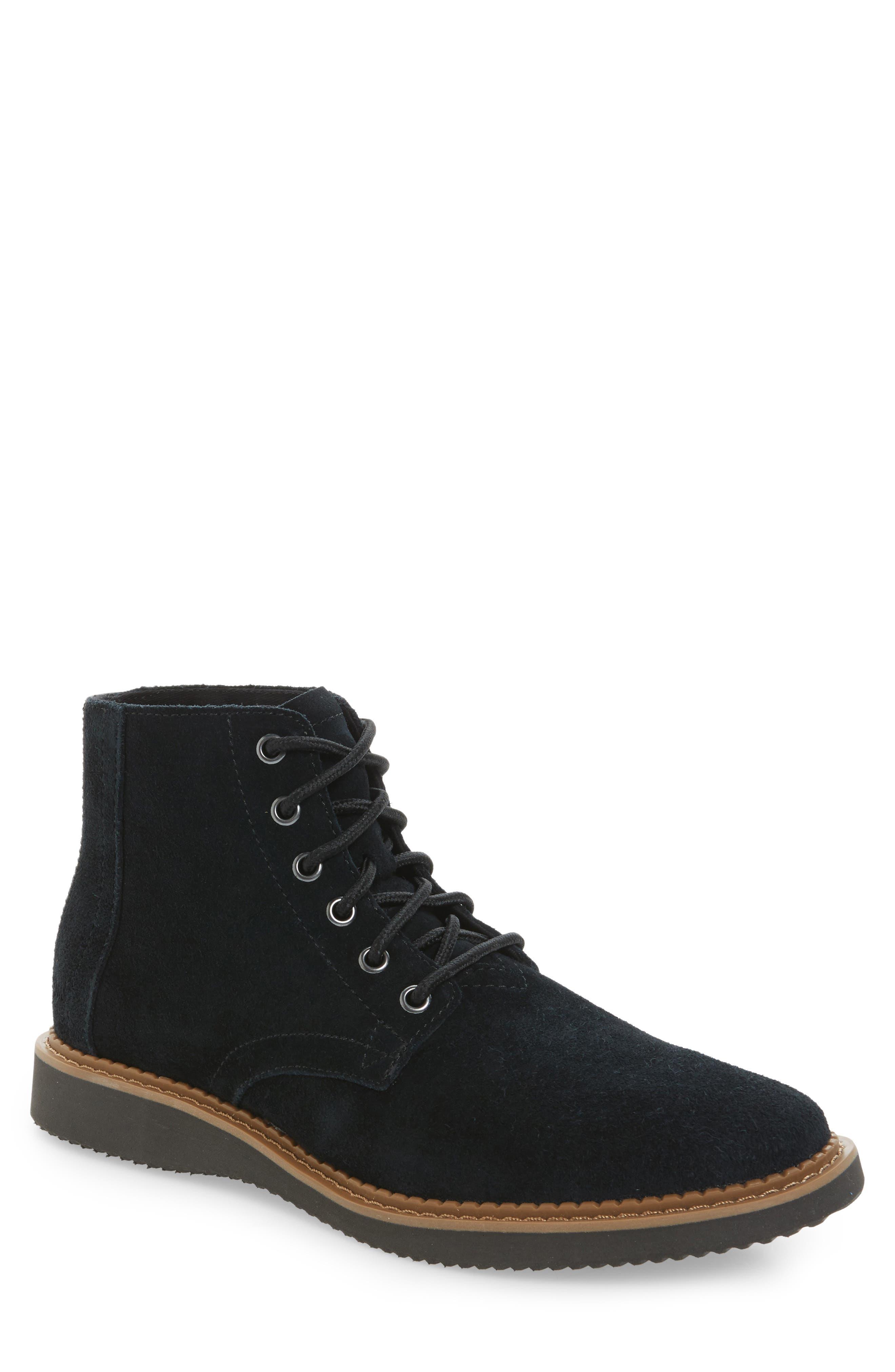 TOMS Porter Plain Toe Boot (Men)