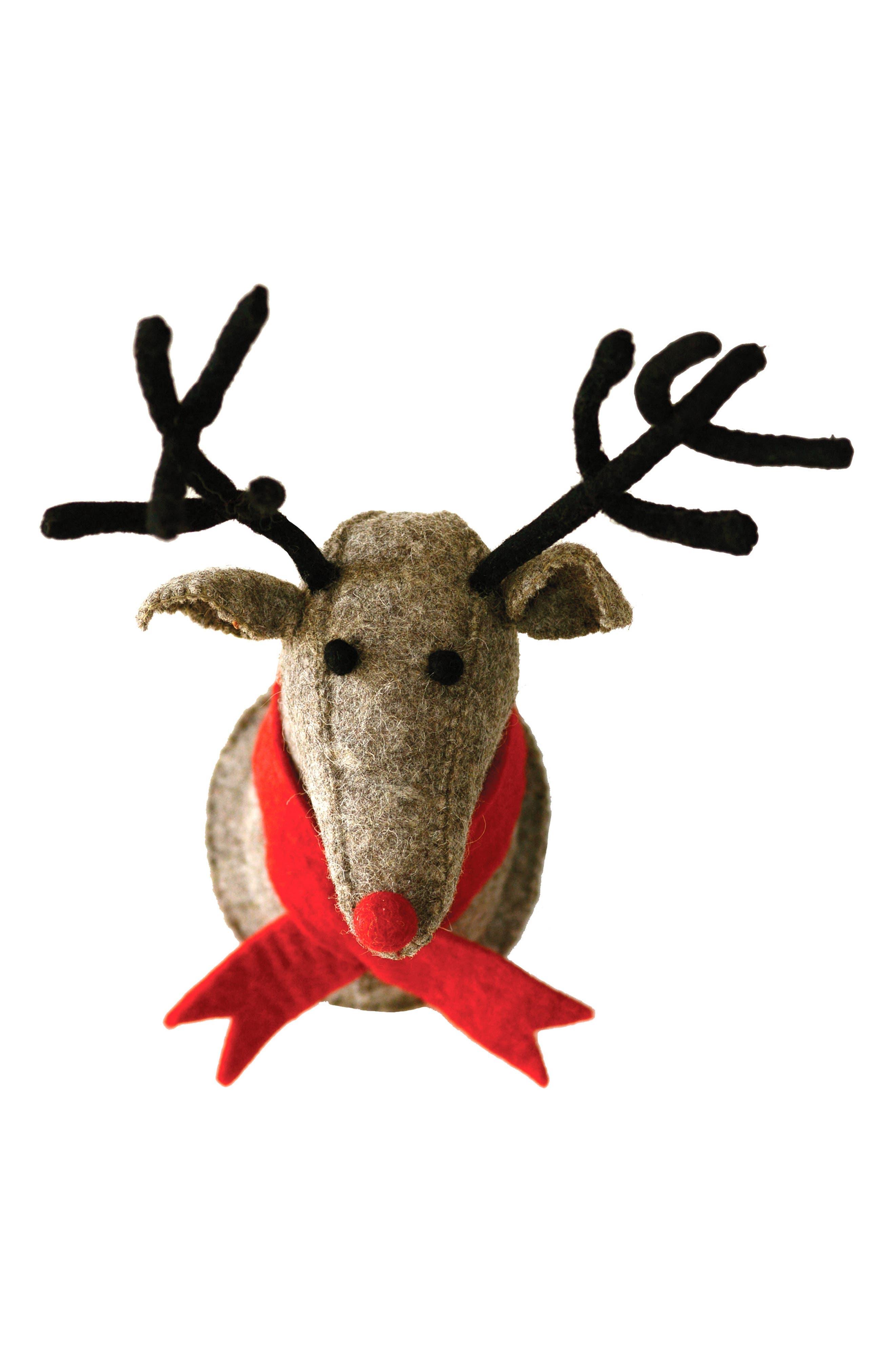 Main Image - Creative Co-Op Reindeer Bust
