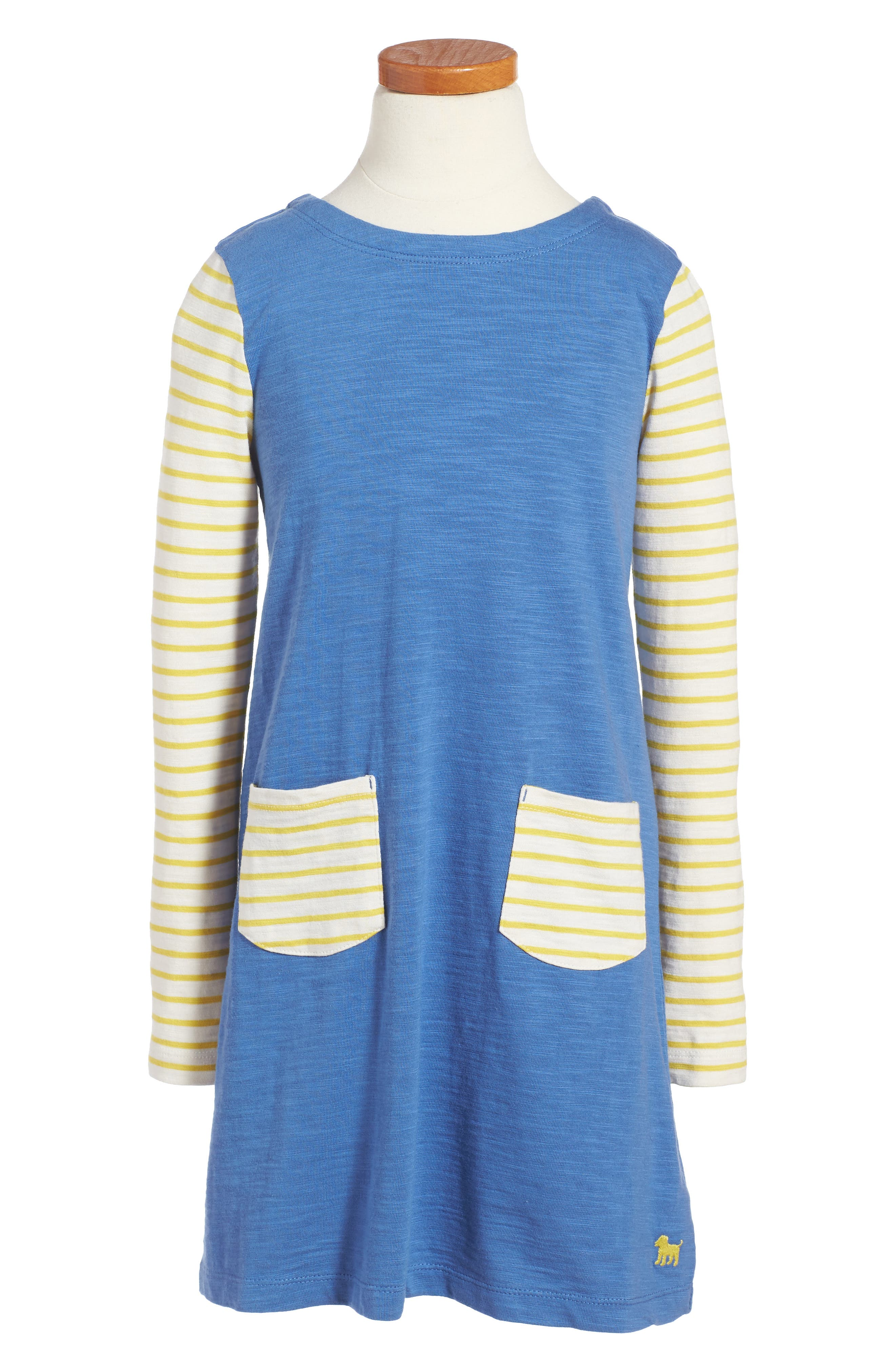 MINI BODEN Stripy Jersey Dress