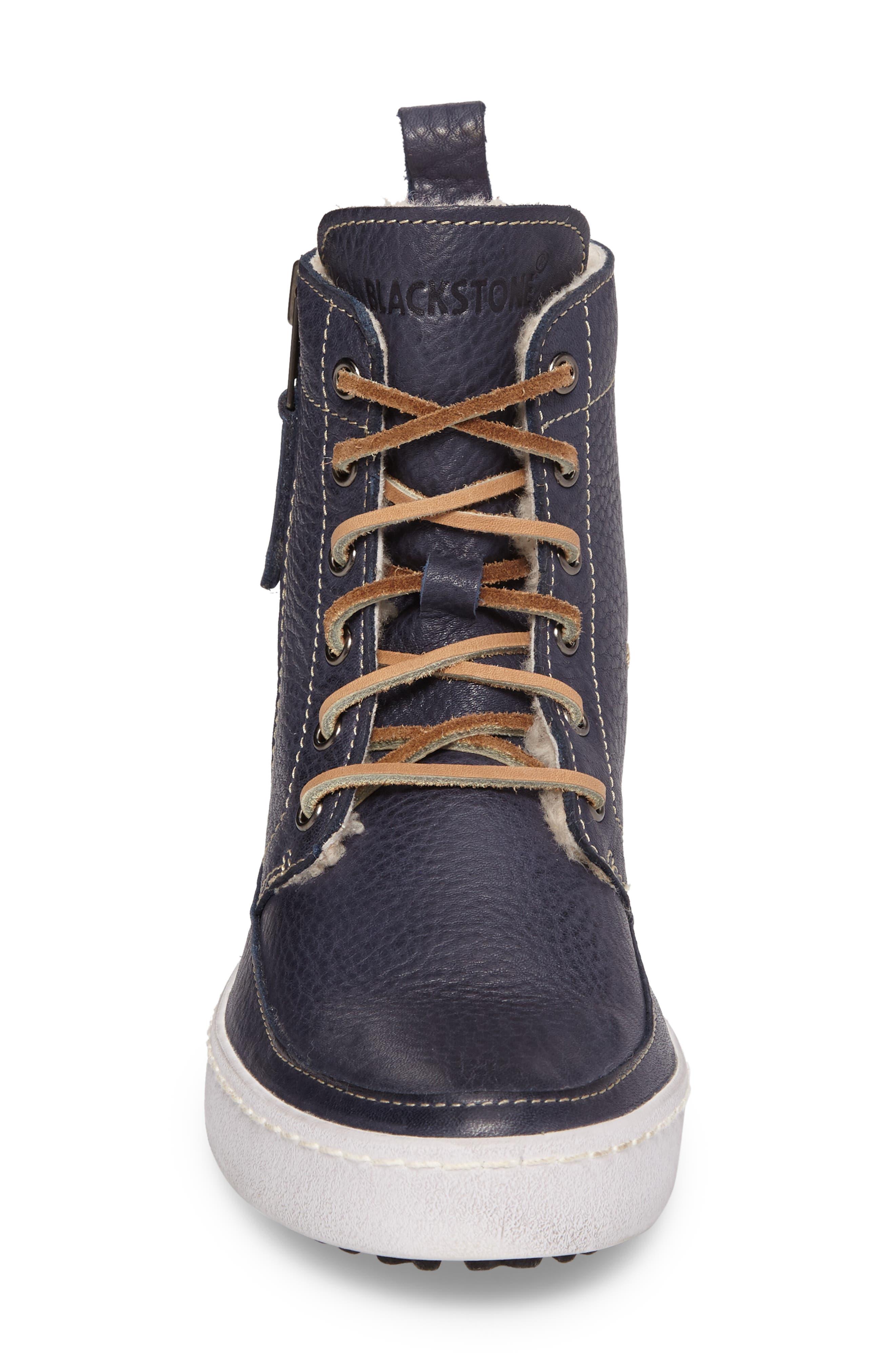 Alternate Image 4  - Blackstone 'CW96' Genuine Shearling Lined Sneaker Boot (Women)