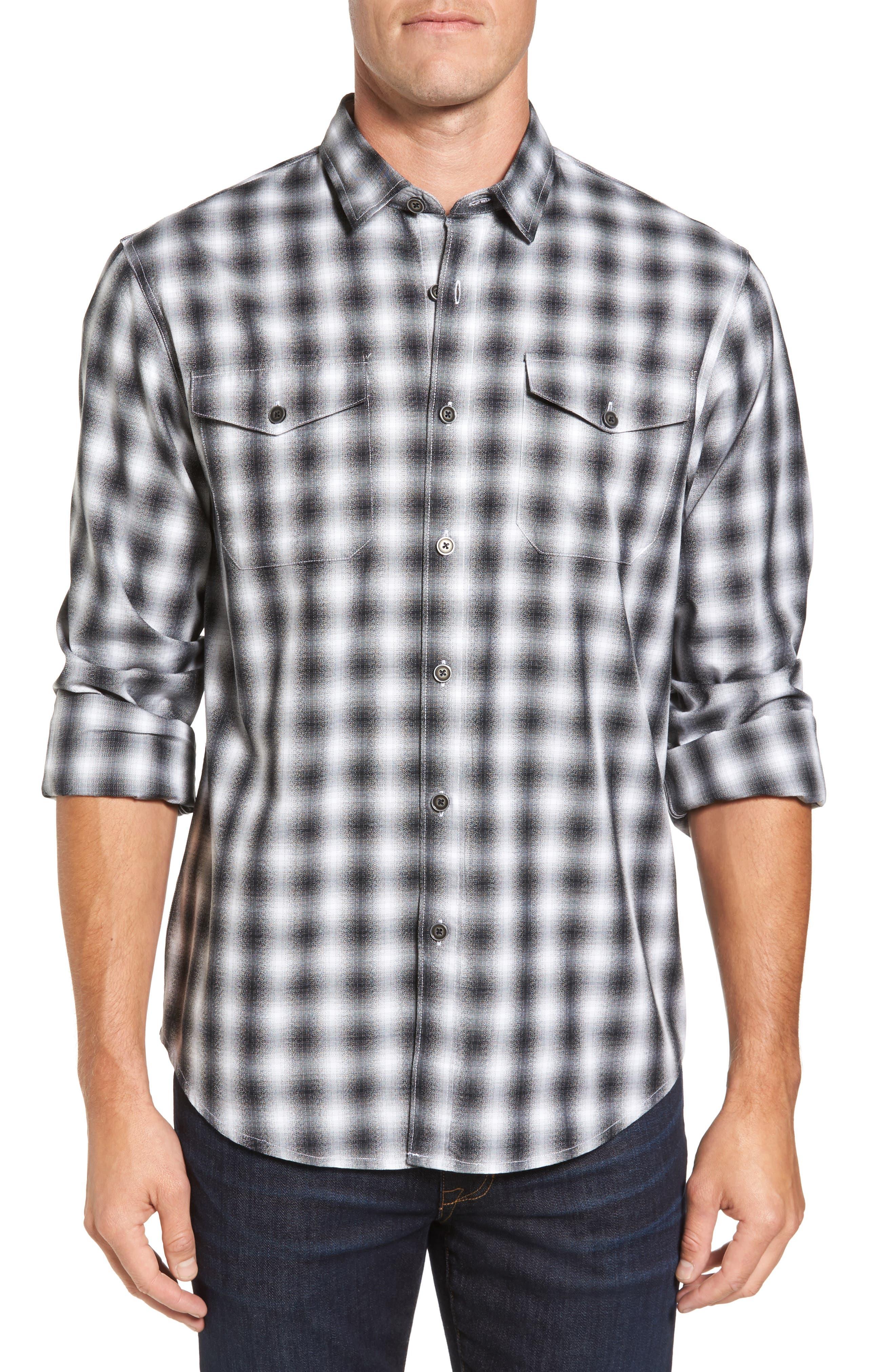 Coastaoro Acacia Regular Fit Plaid Flannel Shirt